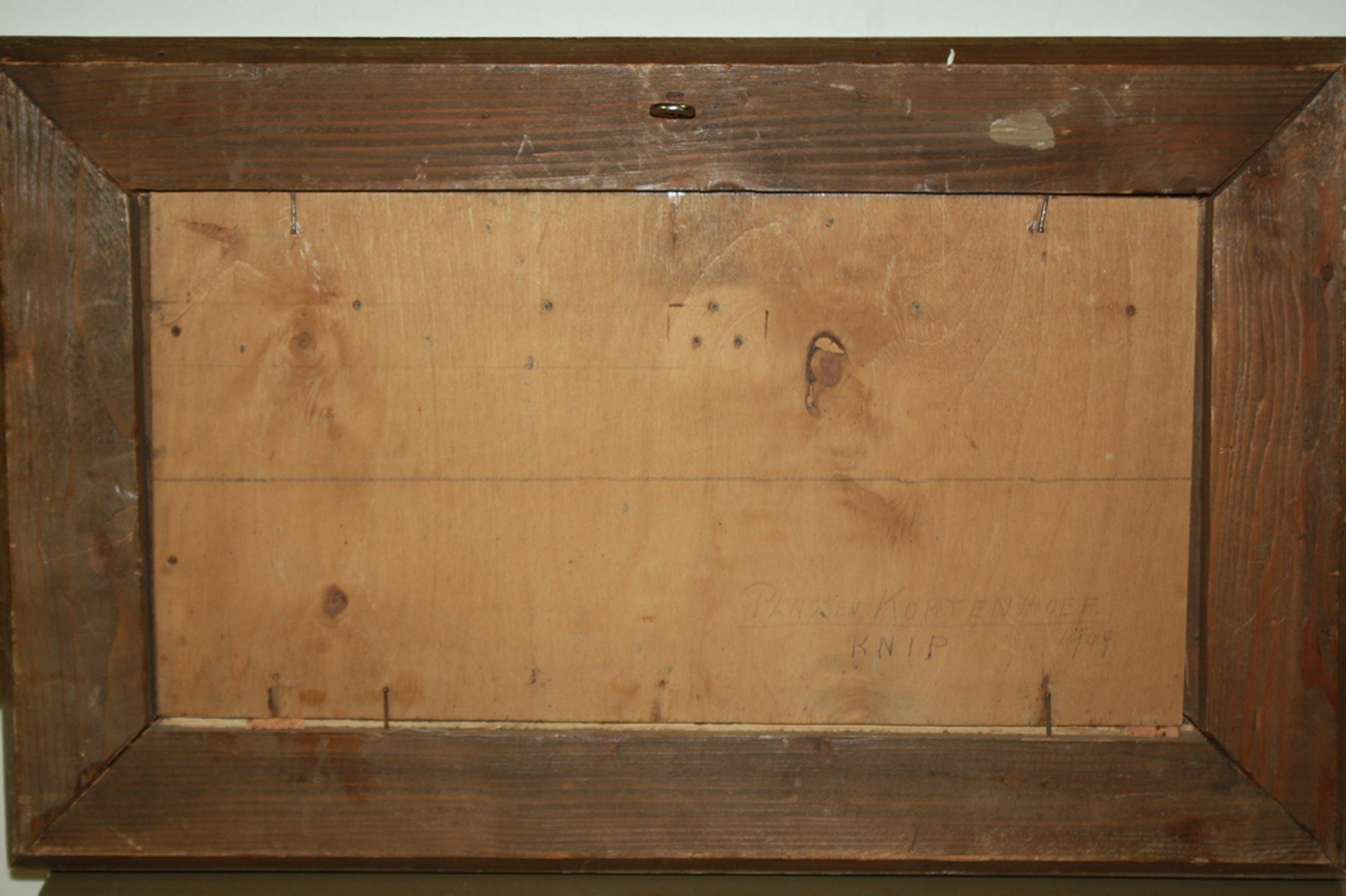 WILLEM A  KNIP1883- 1967 - BOOT IN POLDER BIJ KORTENHOEF  kopen? Bied vanaf 125!