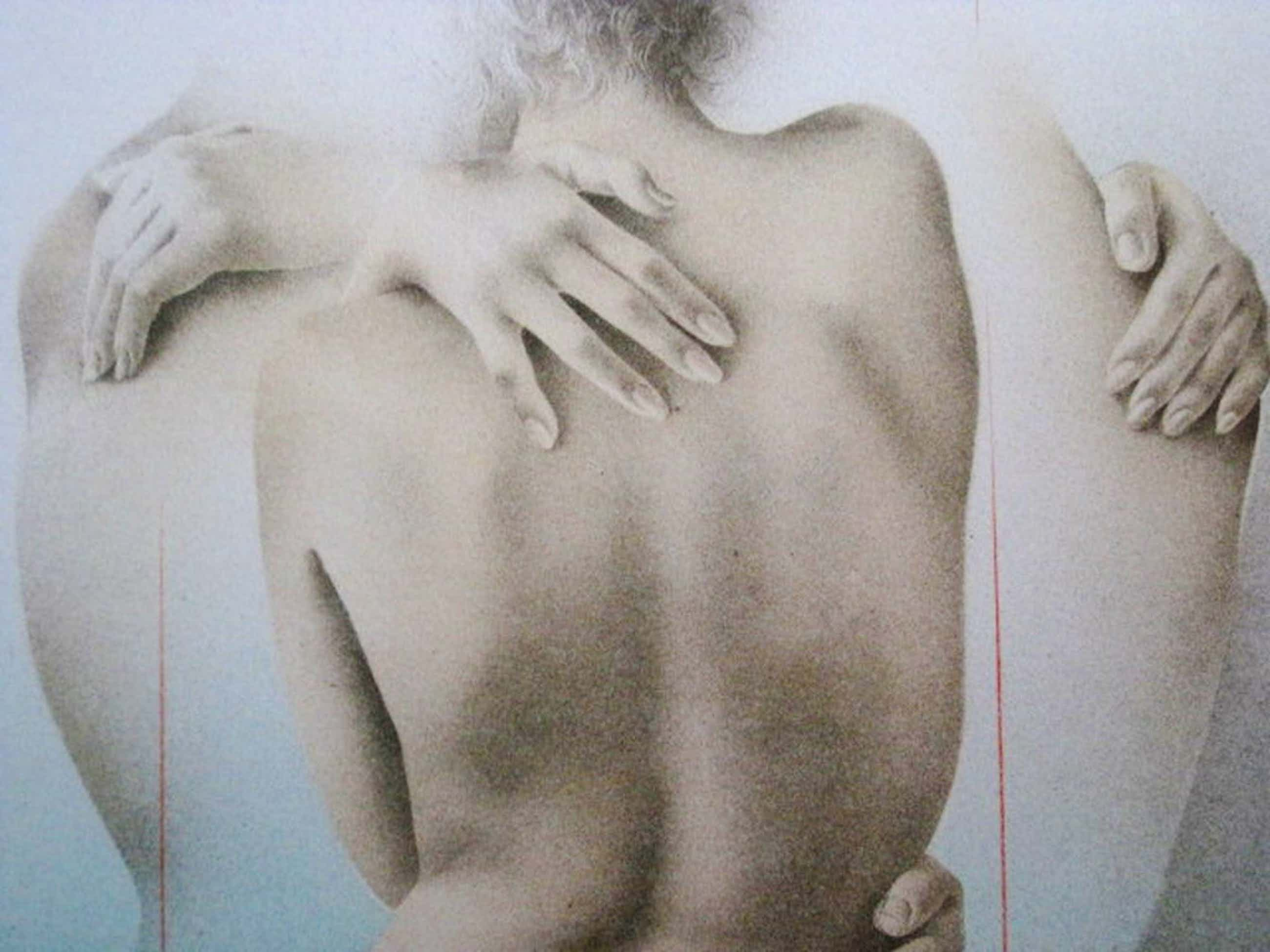 """Karakteristiek Realisme van Poen de Wijs 1948-2014 gesign. Litho """"la Modella""""  kopen? Bied vanaf 55!"""