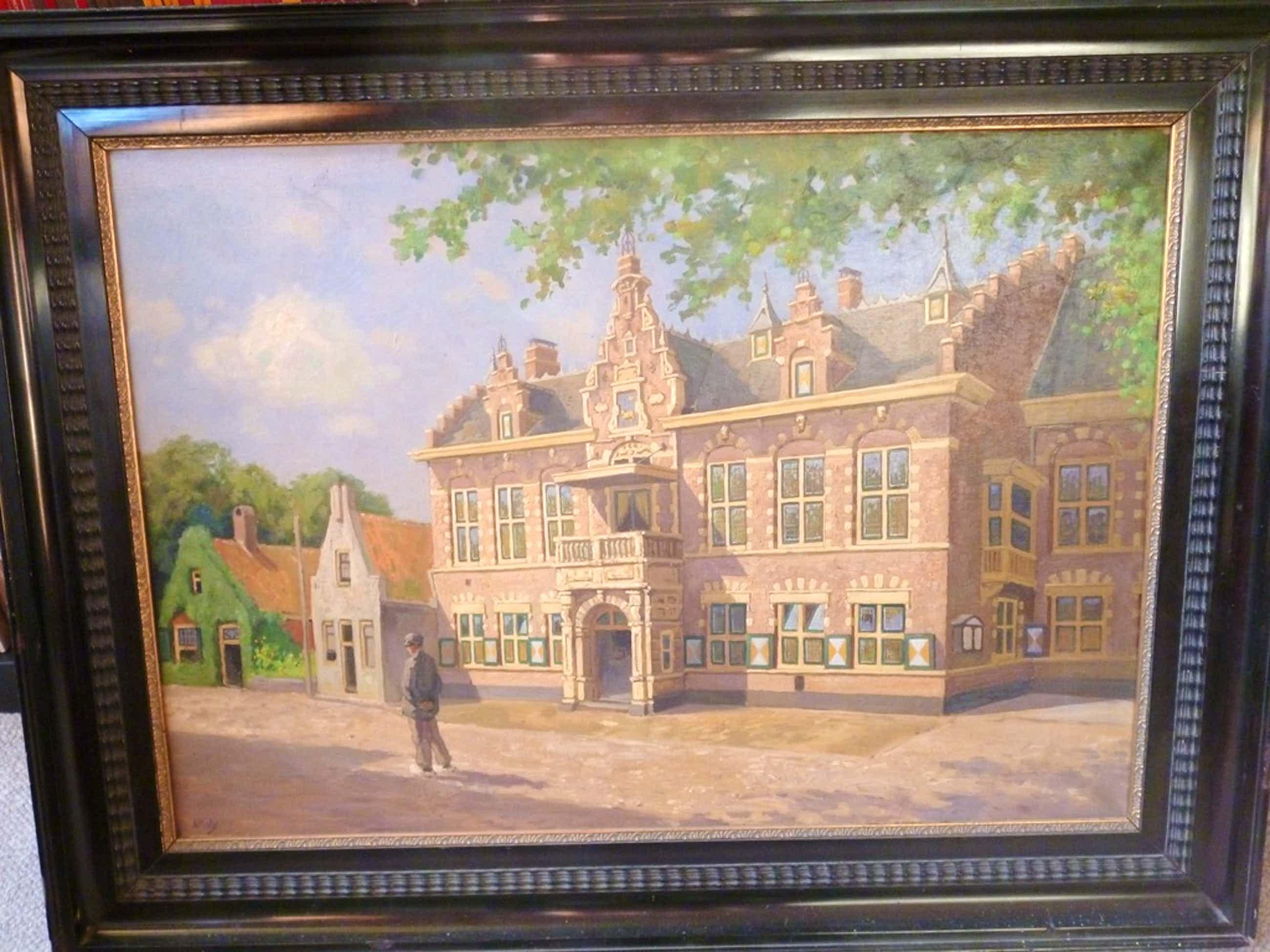 Voormalig Gemeentehuis te Velsen-Zuid kopen? Bied vanaf 200!