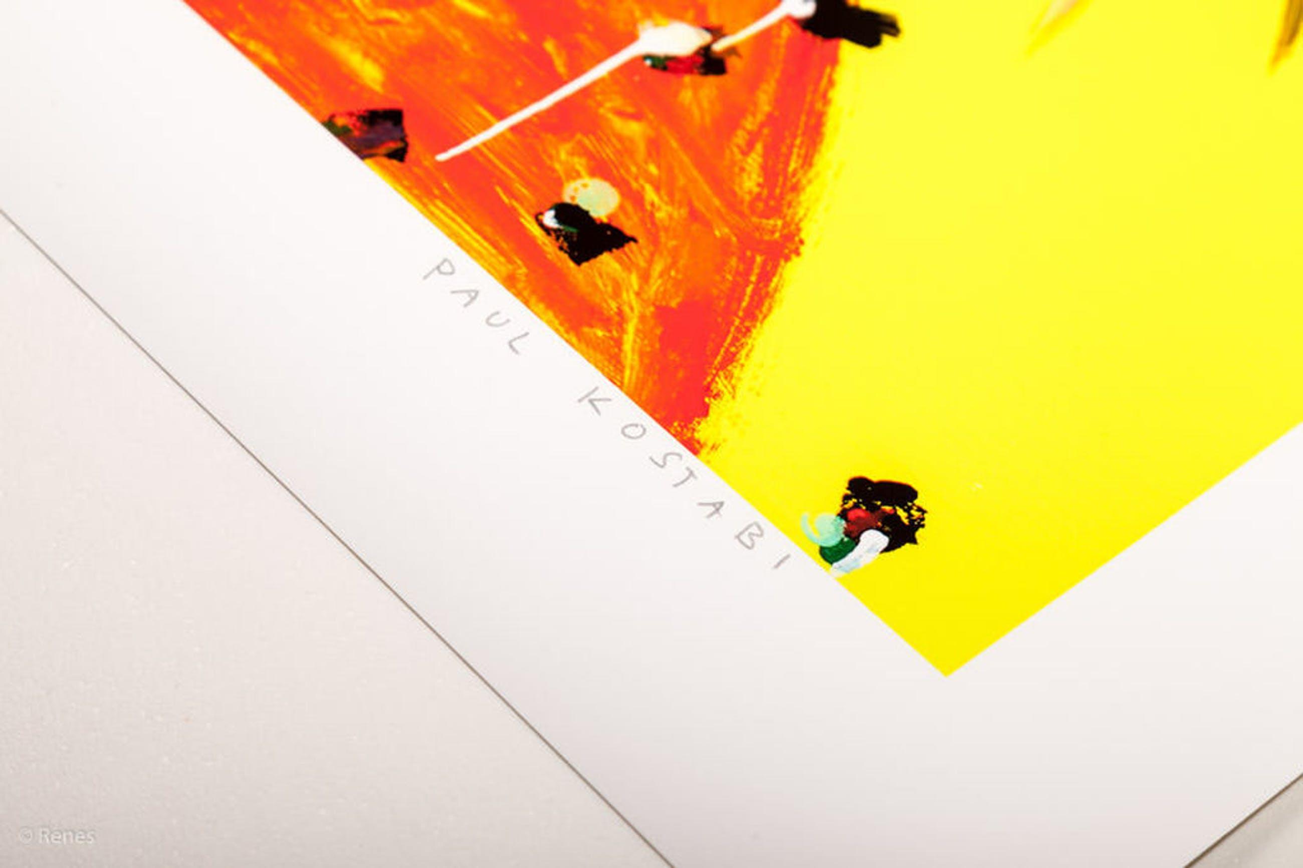 Paul Kostabi 'Sniff' - giclée, oplage 75, handgesigneerd en genummerd, 2013 kopen? Bied vanaf 79!