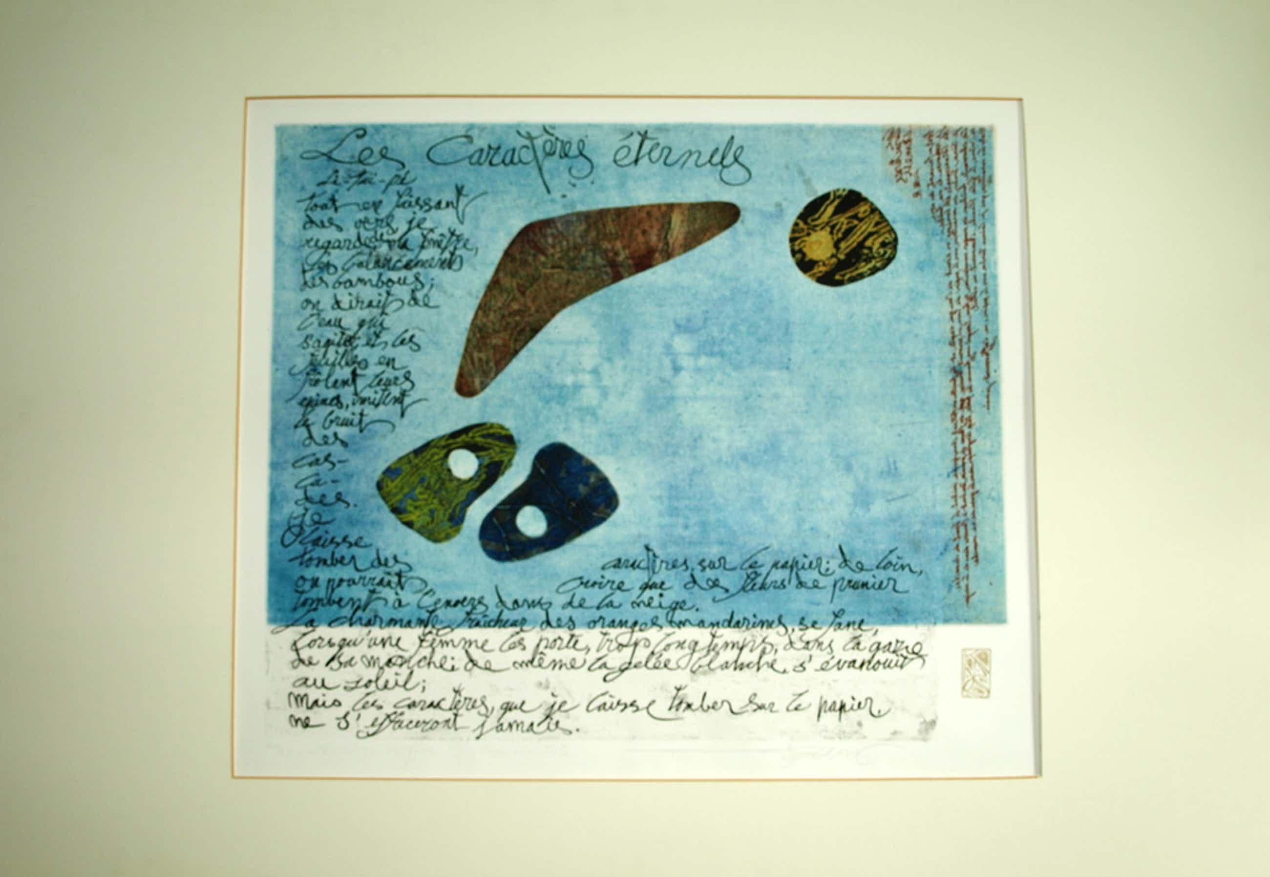 Koos van der Sluys: kleurets - Les Charactères Eternels - uit 'Livre de Jade' kopen? Bied vanaf 60!