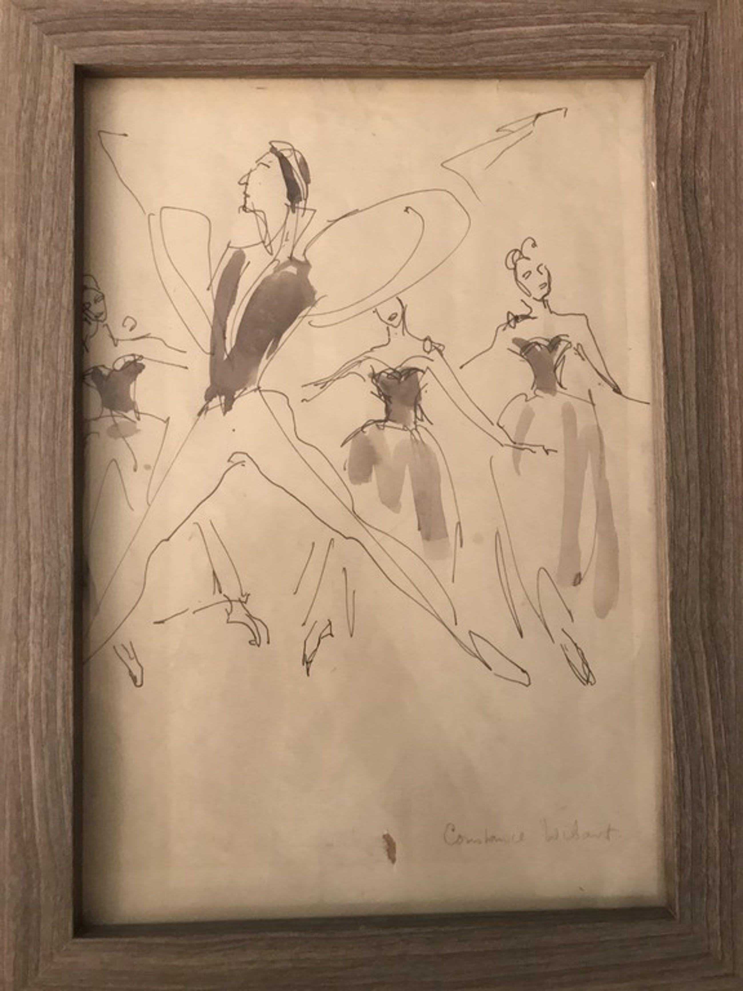 Constance Wibaut: Originele tekening  kopen? Bied vanaf 60!