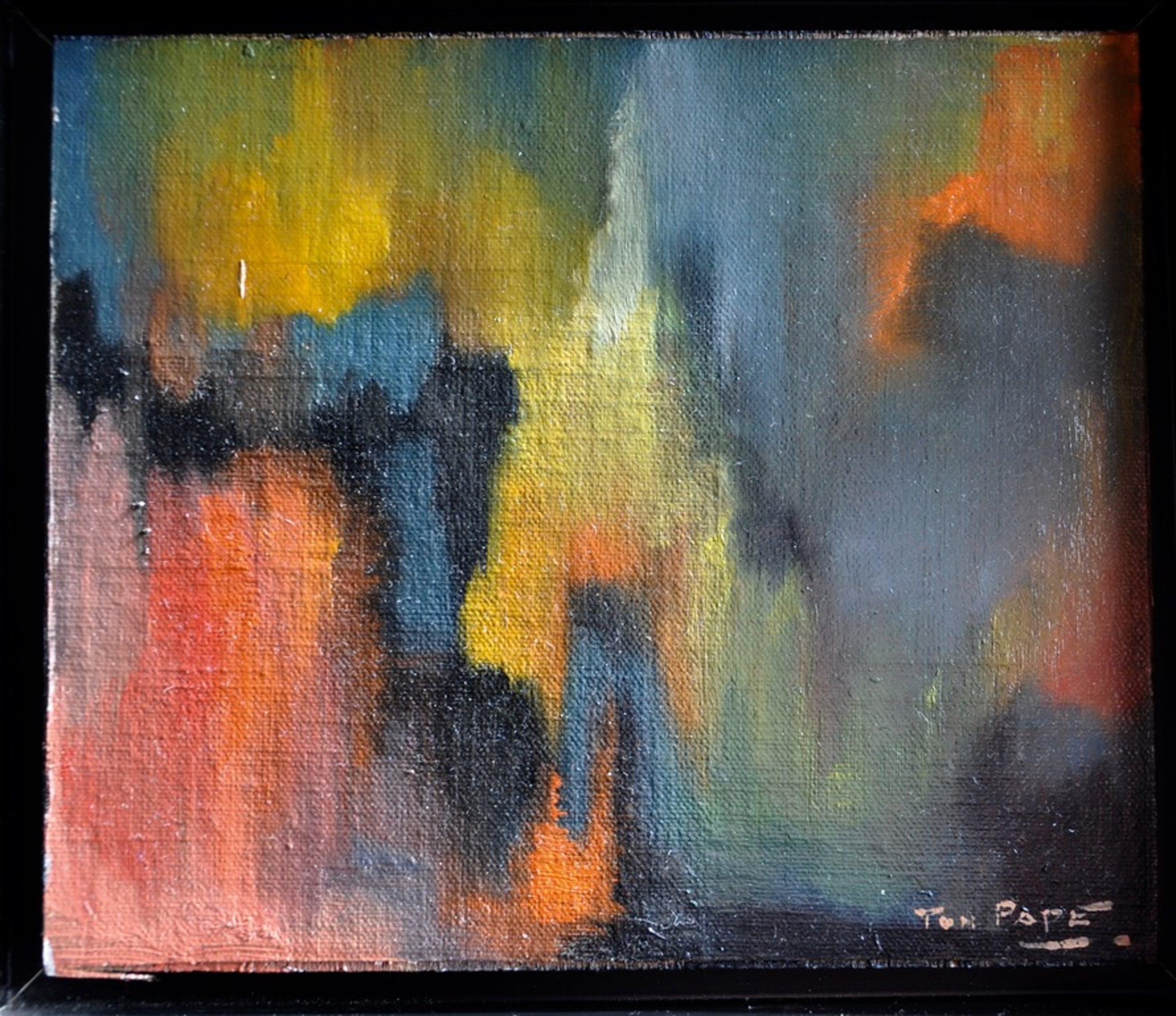 Ton Pape - Abstracte compositie kopen? Bied vanaf 69!