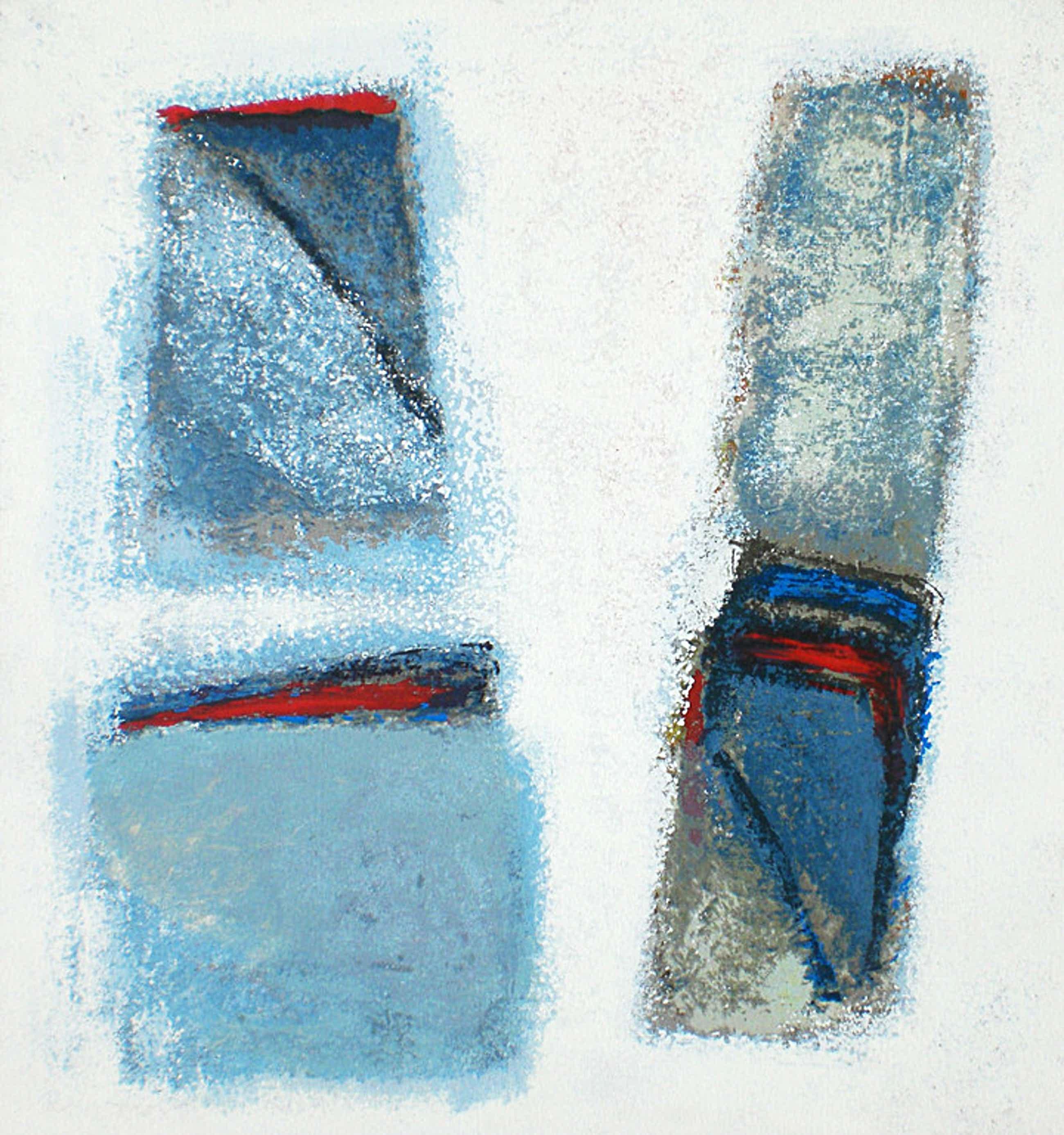 Jan Radersma - Abstract, zeefdruk (ingelijst) kopen? Bied vanaf 70!
