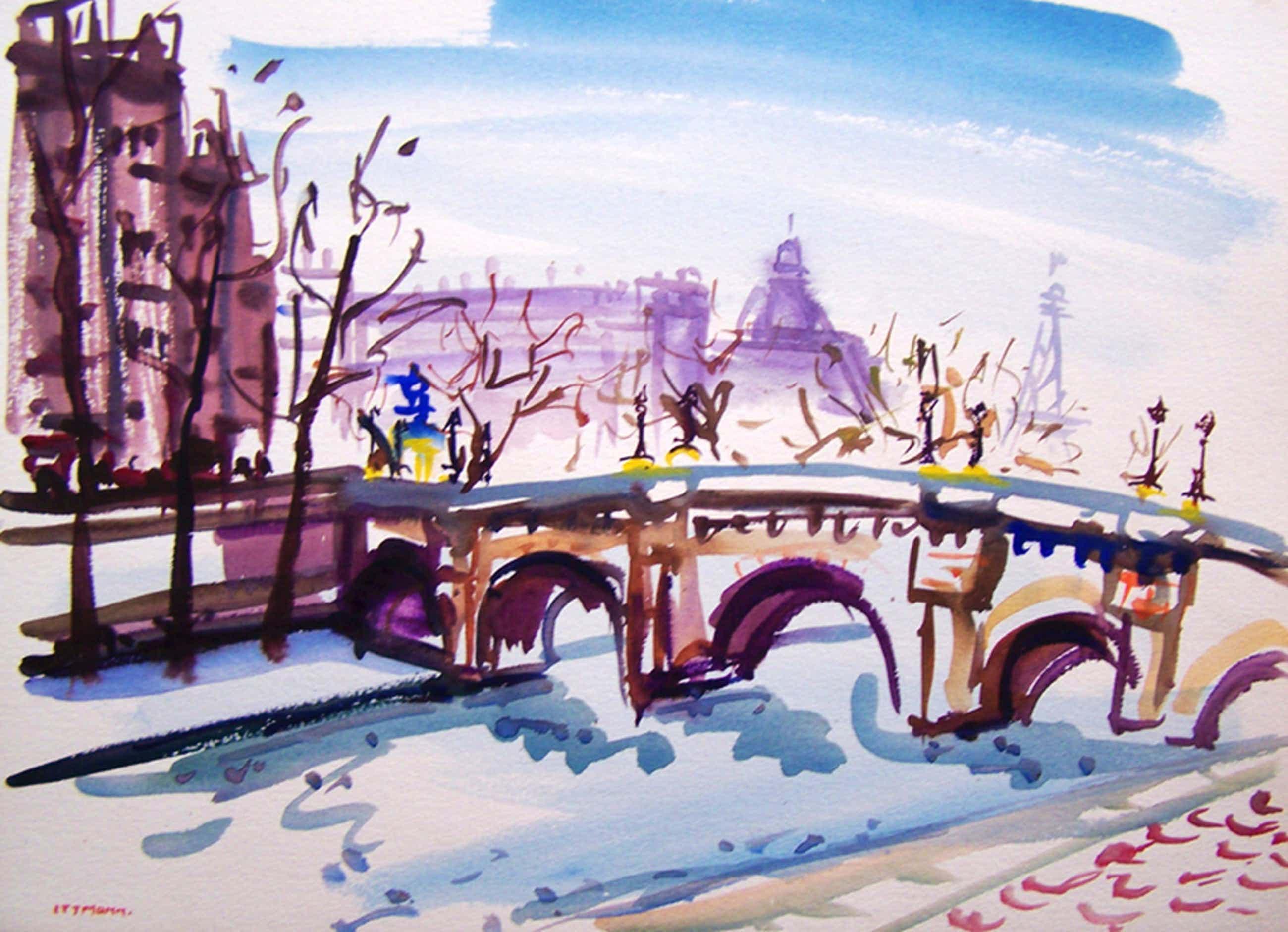 Parijs, Seine met op de achtergrond de Efifeltoren kopen? Bied vanaf 185!