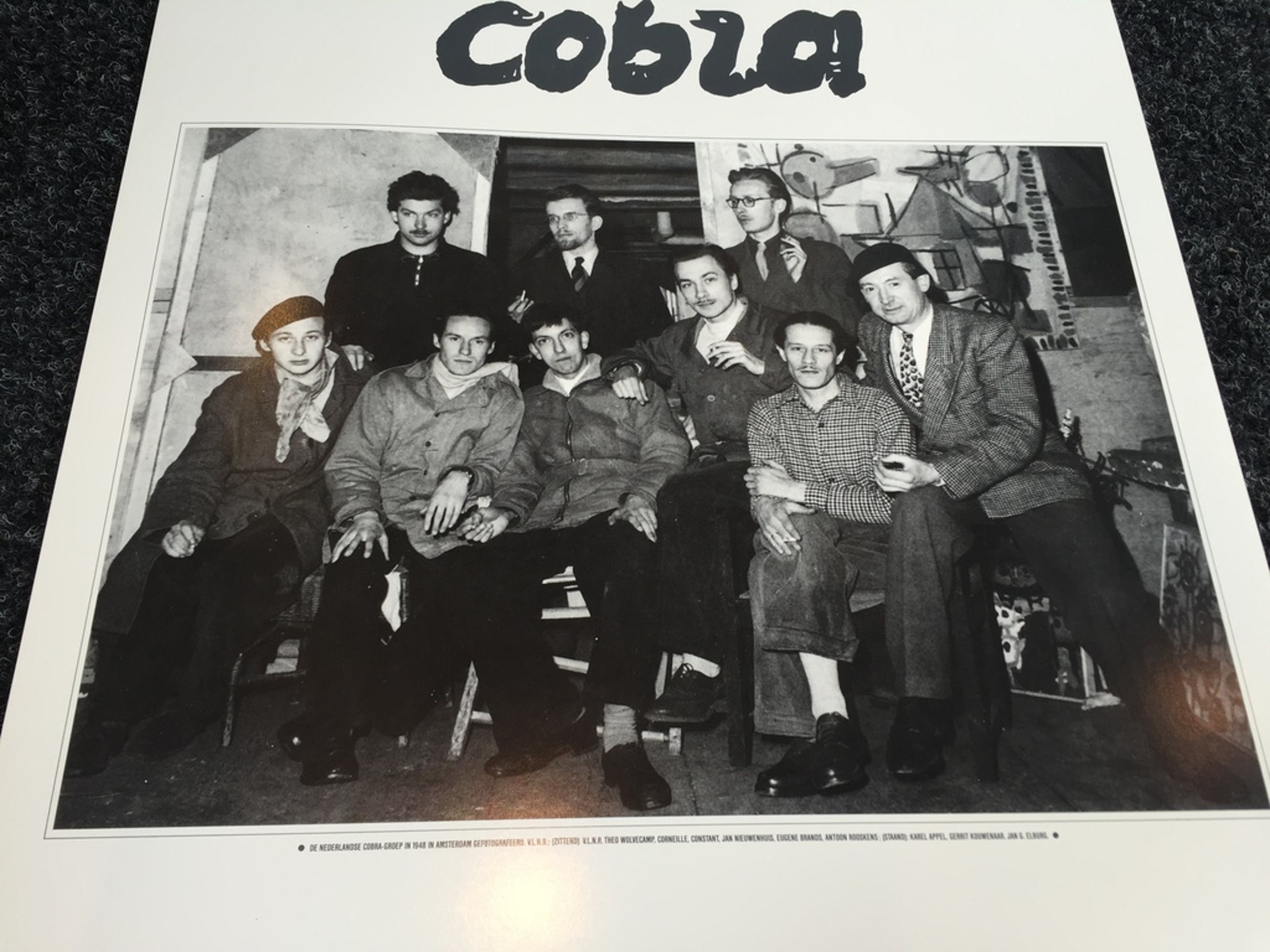 2 Originele COBRA Posters JASKI ART Gallery Reflex kopen? Bied vanaf 1!