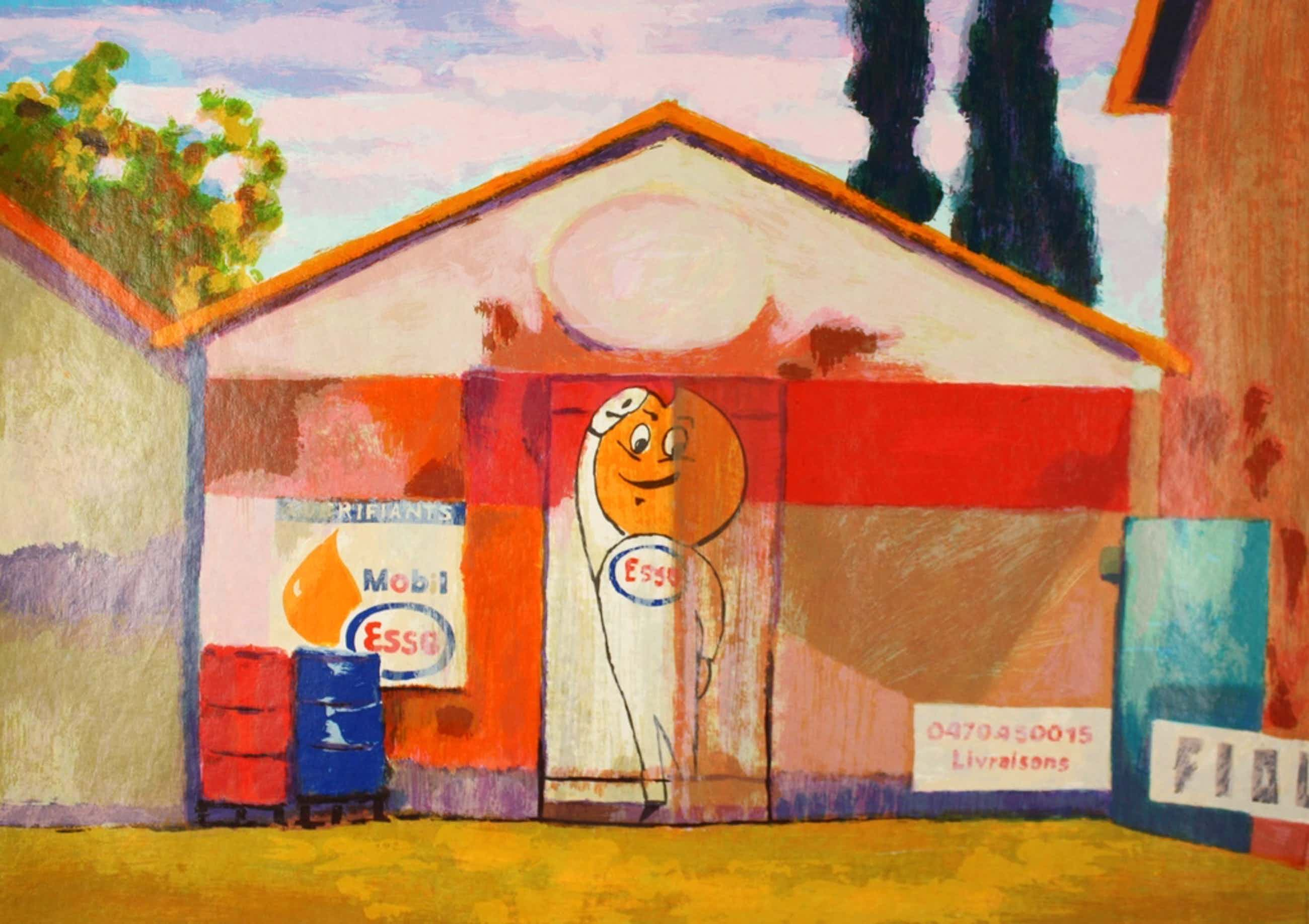 Willem Brauck, kleurenzeefdruk, 'Esso', 2006 kopen? Bied vanaf 59!