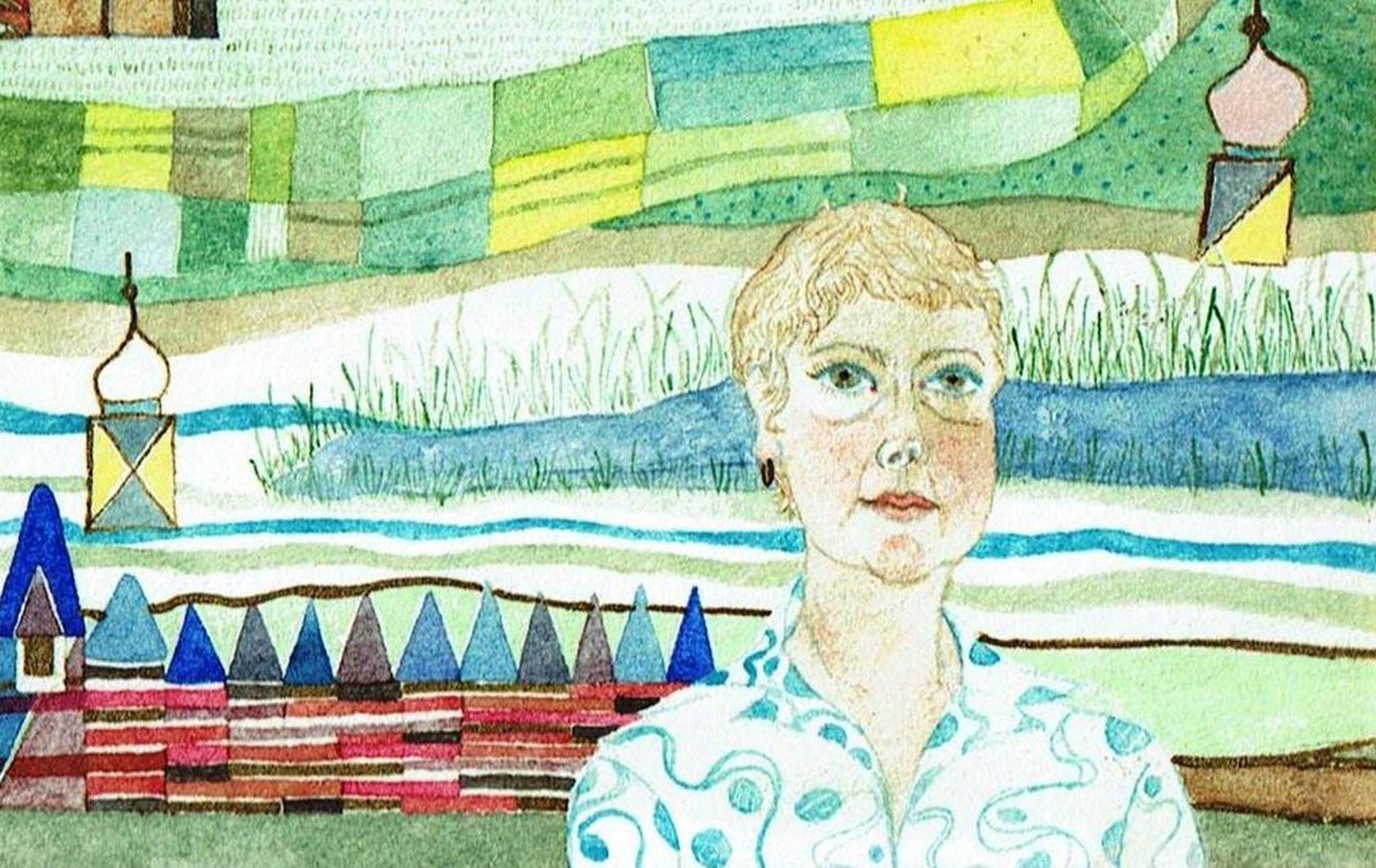 Marie Anne Steenhuizen-Aquarel-1976-Gesigneerd  kopen? Bied vanaf 1!