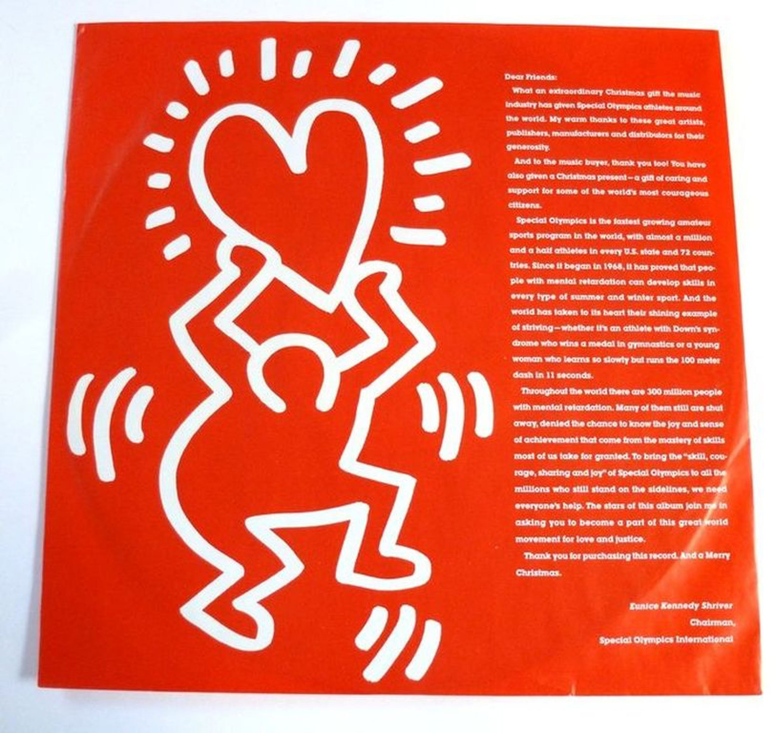 Keith Haring , a very special Christmas ZELDZAAM kopen? Bied vanaf 59!