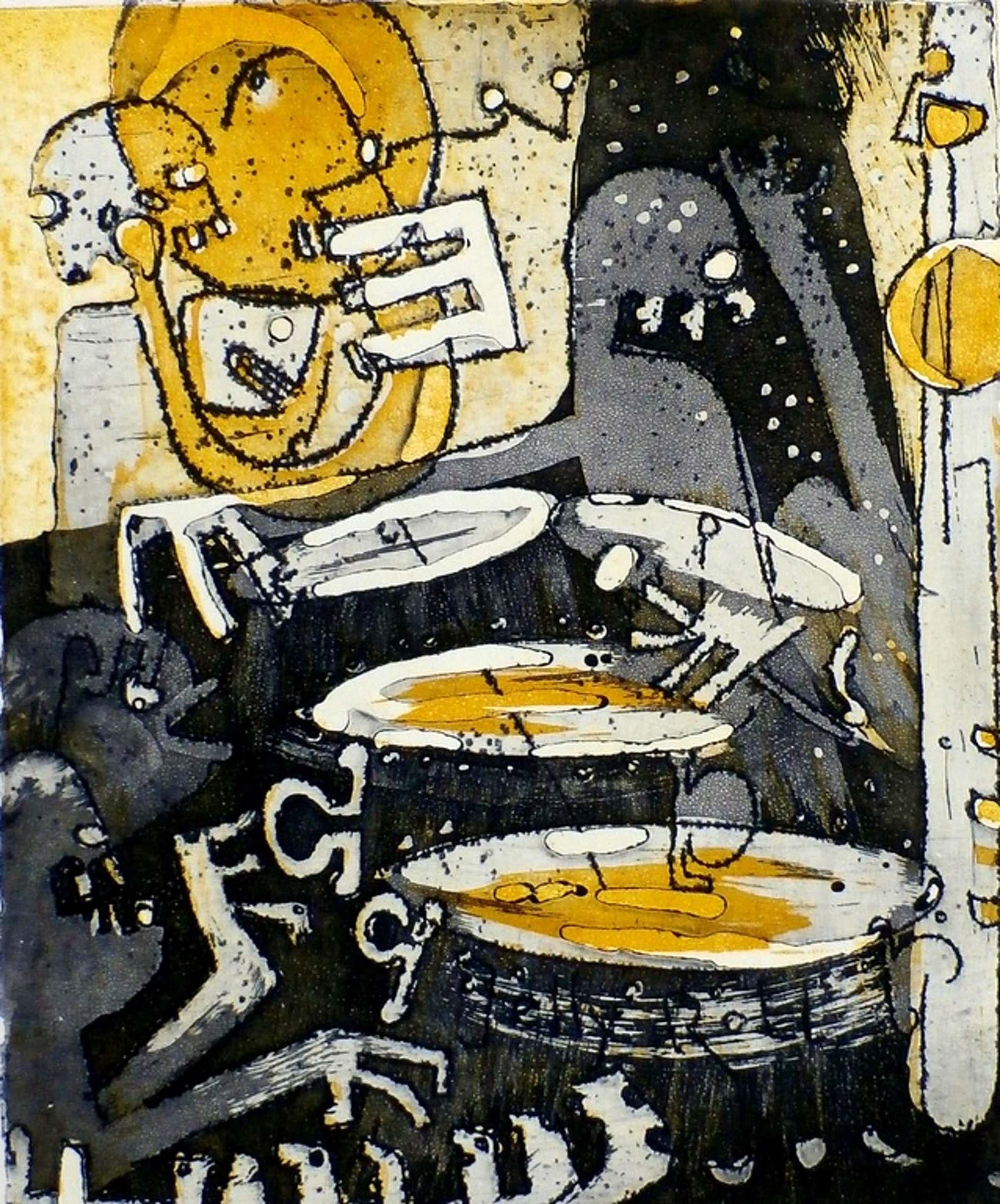 Rob Clous - ets: Jazz uit de jaren 30 - 1966 - oplage: 10 kopen? Bied vanaf 60!