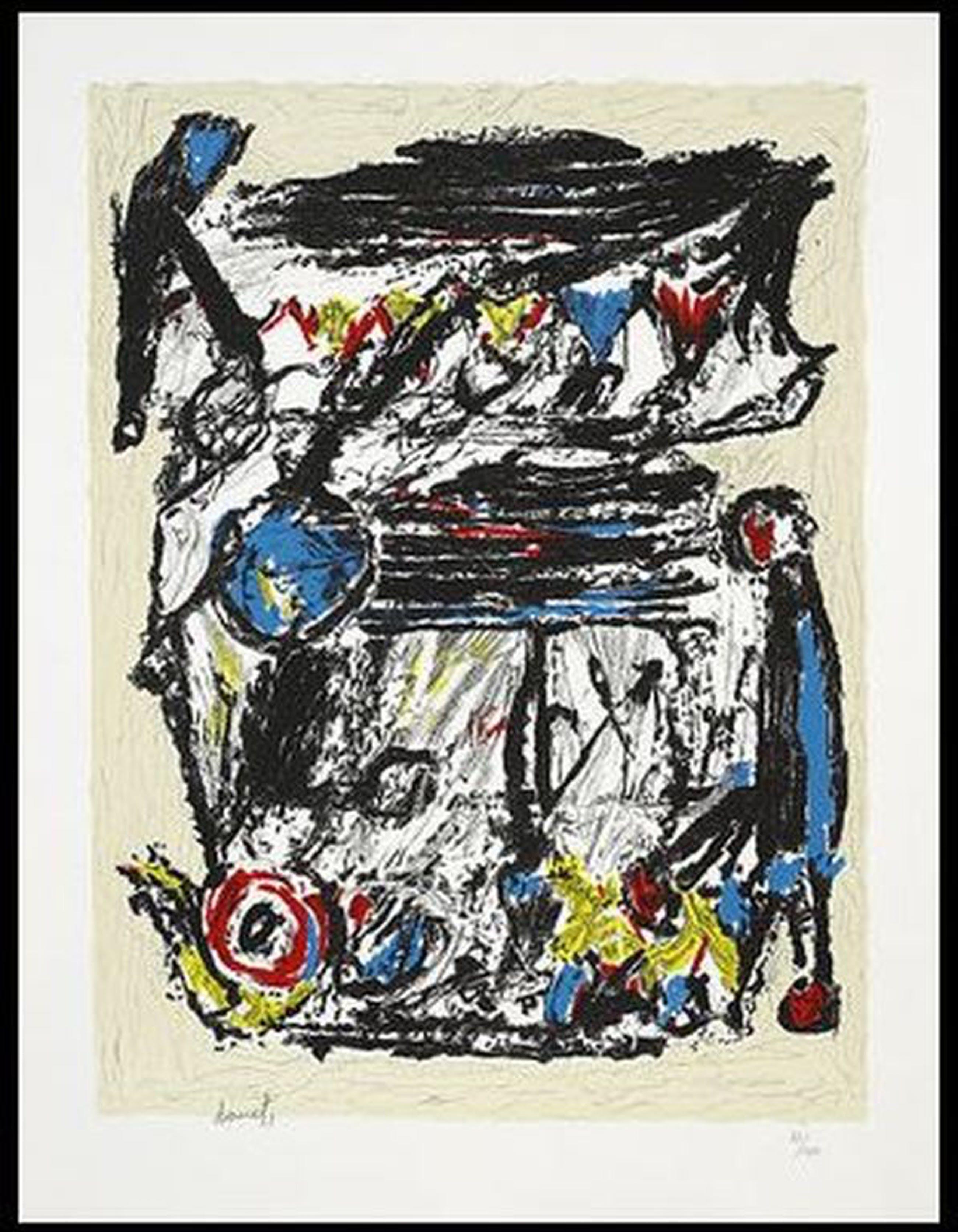 Jacques Doucet: Portfolio 3x Litho, Croisee Familiale kopen? Bied vanaf 220!