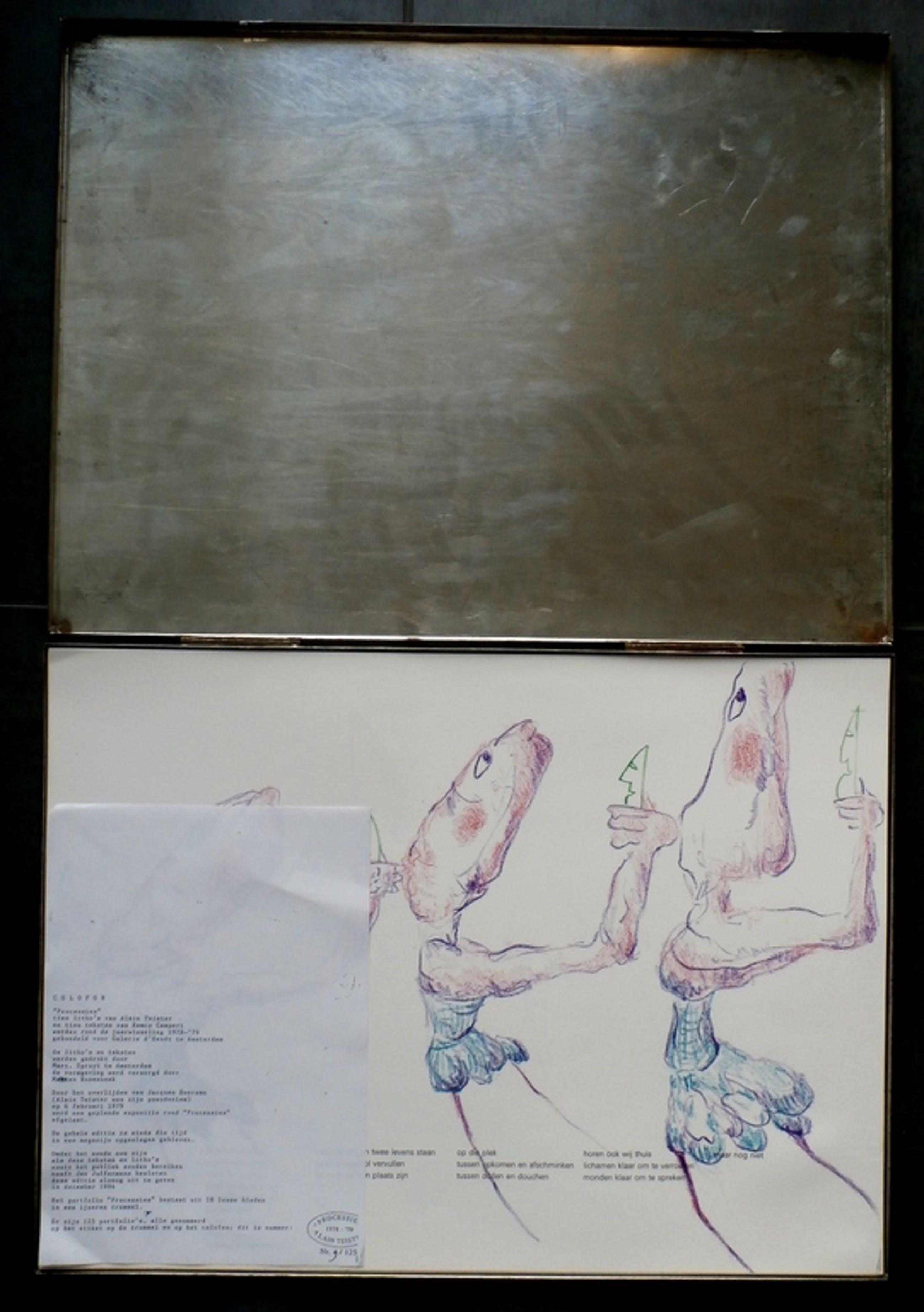 Alain Teister - 10 litho's met 10 teksten van Remco Campert - 1978/1979 kopen? Bied vanaf 75!