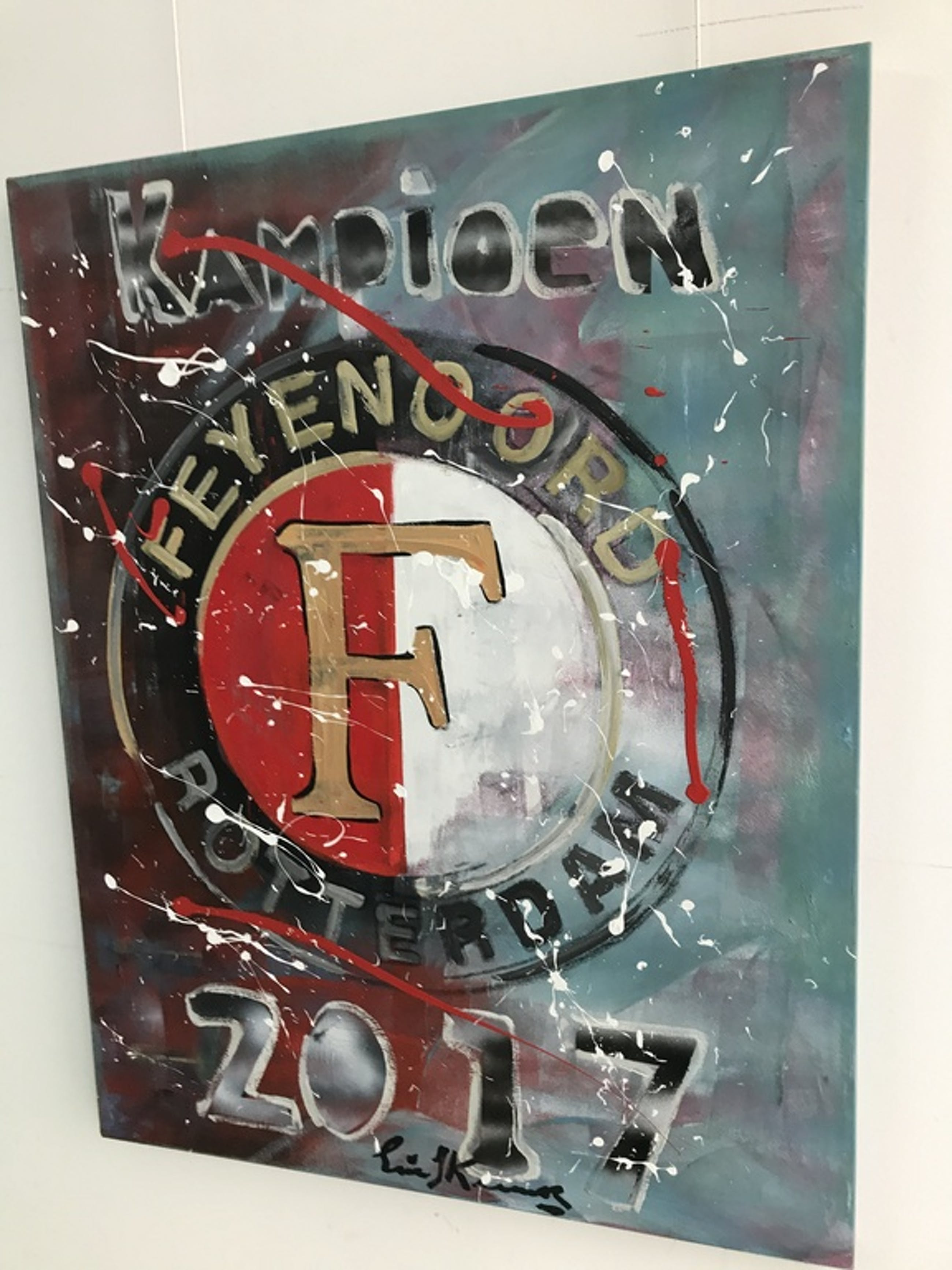 ERIC JAN KREMER FEYENOORD ROTTERDAM 2017 kopen? Bied vanaf 650!