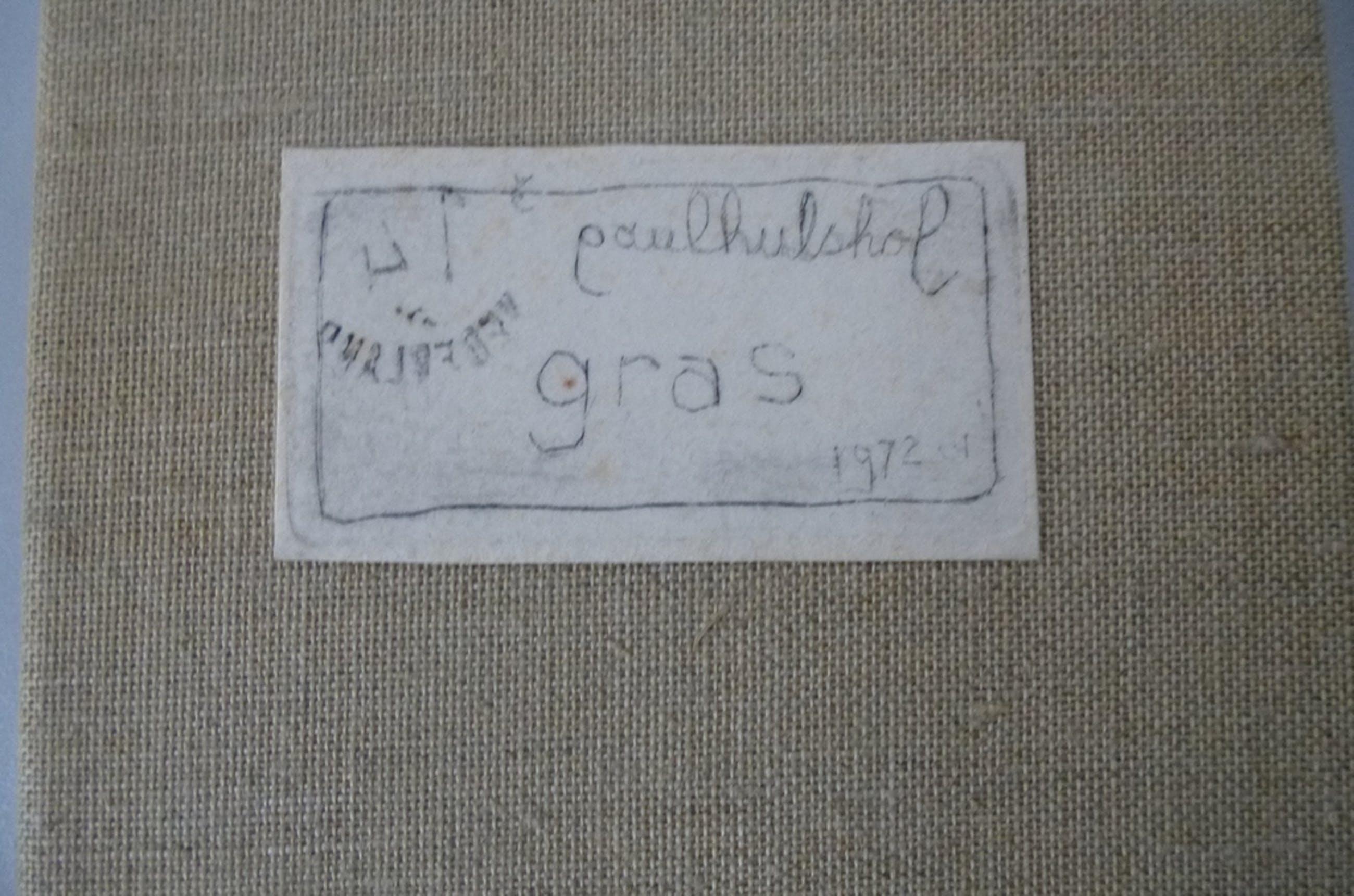Paul Hulshof, 7 etsen: Gras, handgesigneerd kopen? Bied vanaf 1!