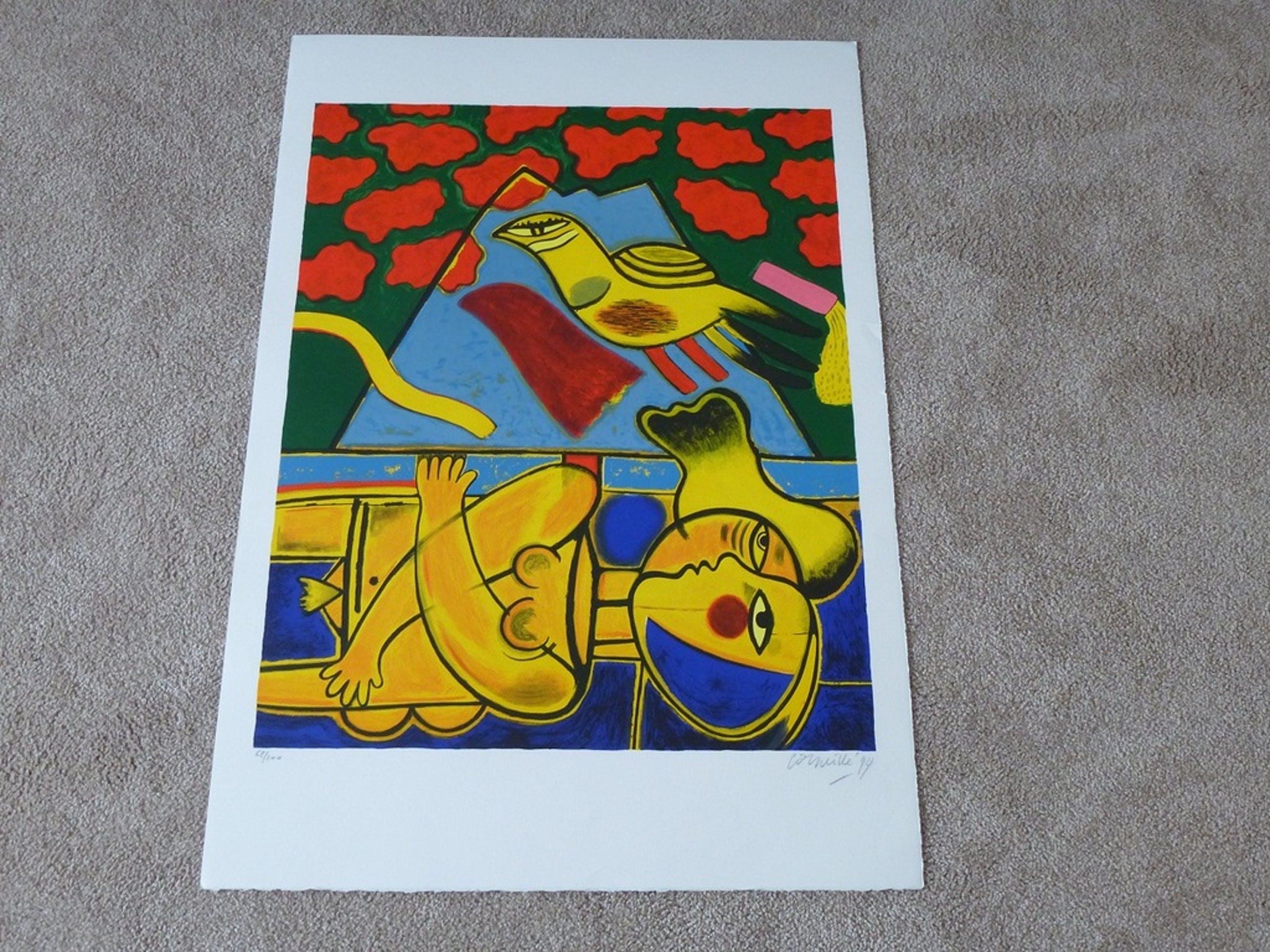 Corneille, grote zeefdruk: Fuji, 1997, handgesigneerd en genummerd kopen? Bied vanaf 425!