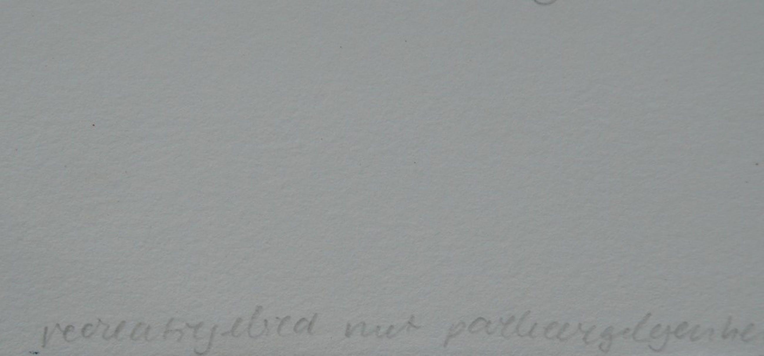 Caroline J.T. Gresnigt - gesigneerde litho - 2003 kopen? Bied vanaf 1!