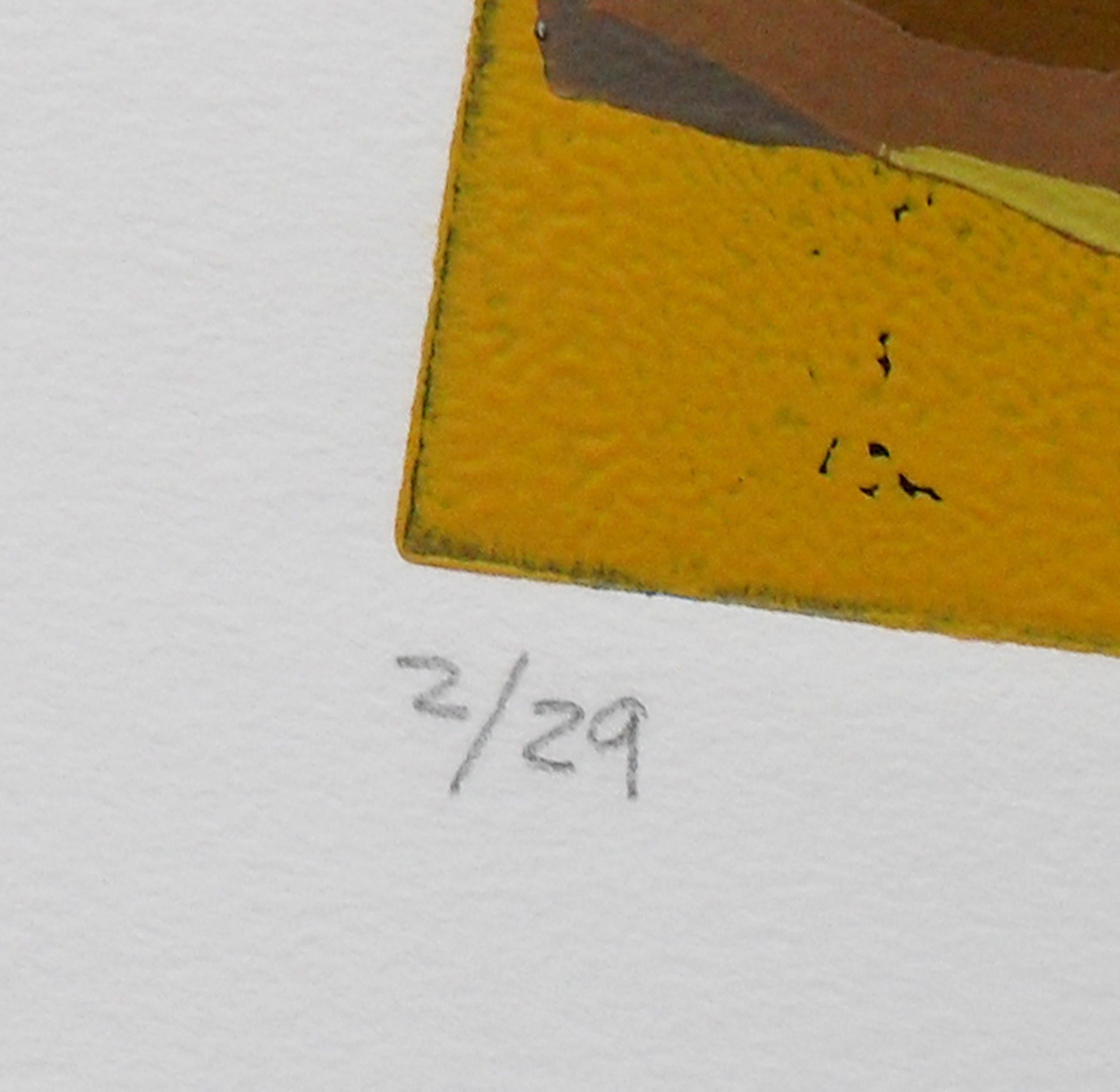 Ardila - Komposition - kleurlitho handgesigneerd kopen? Bied vanaf 1!