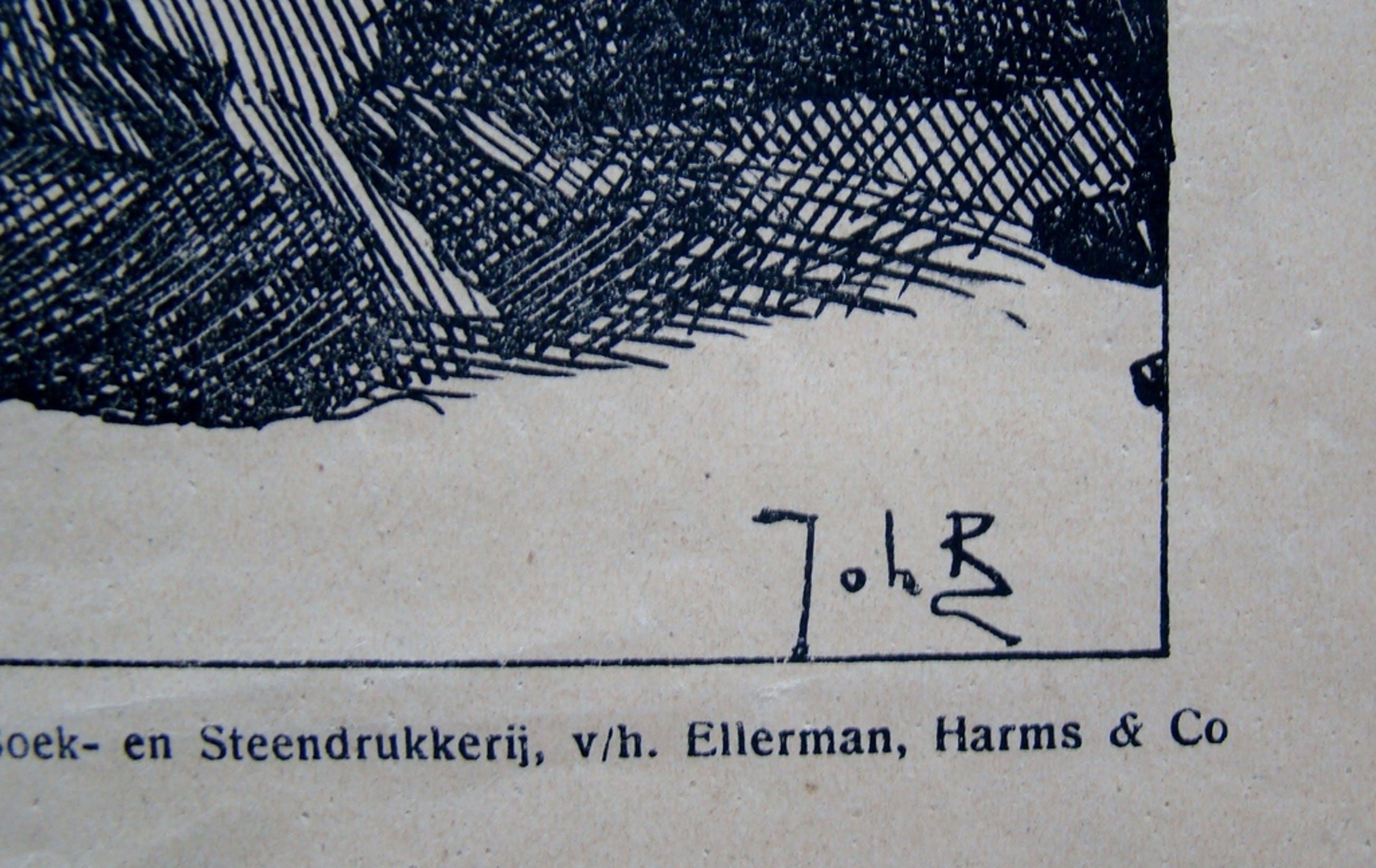 Johan Braakensiek (1858-1940) - prent uit De Amsterdammer 1916 kopen? Bied vanaf 1!