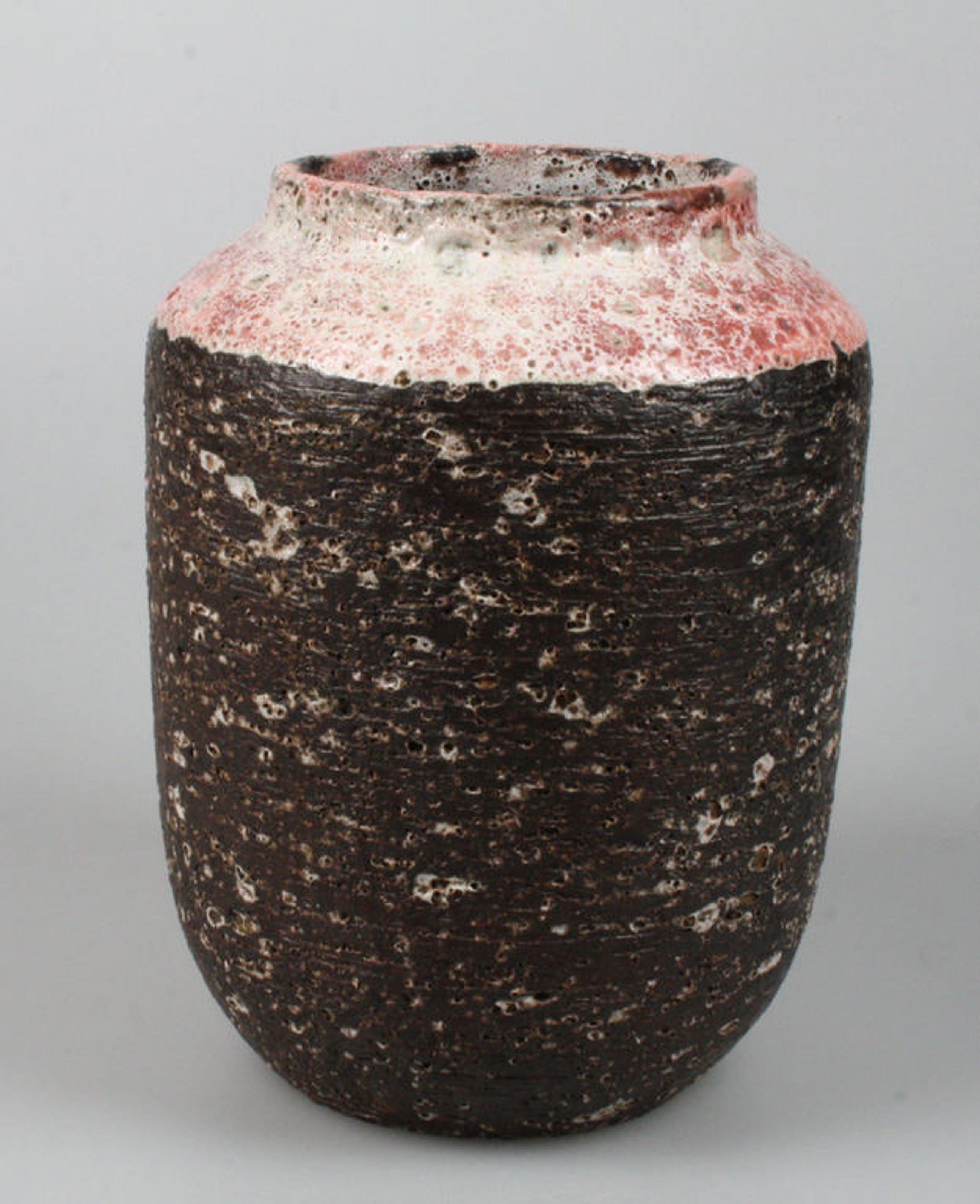 Zaalberg chanoir vaas met roze bovenkant kopen? Bied vanaf 22!