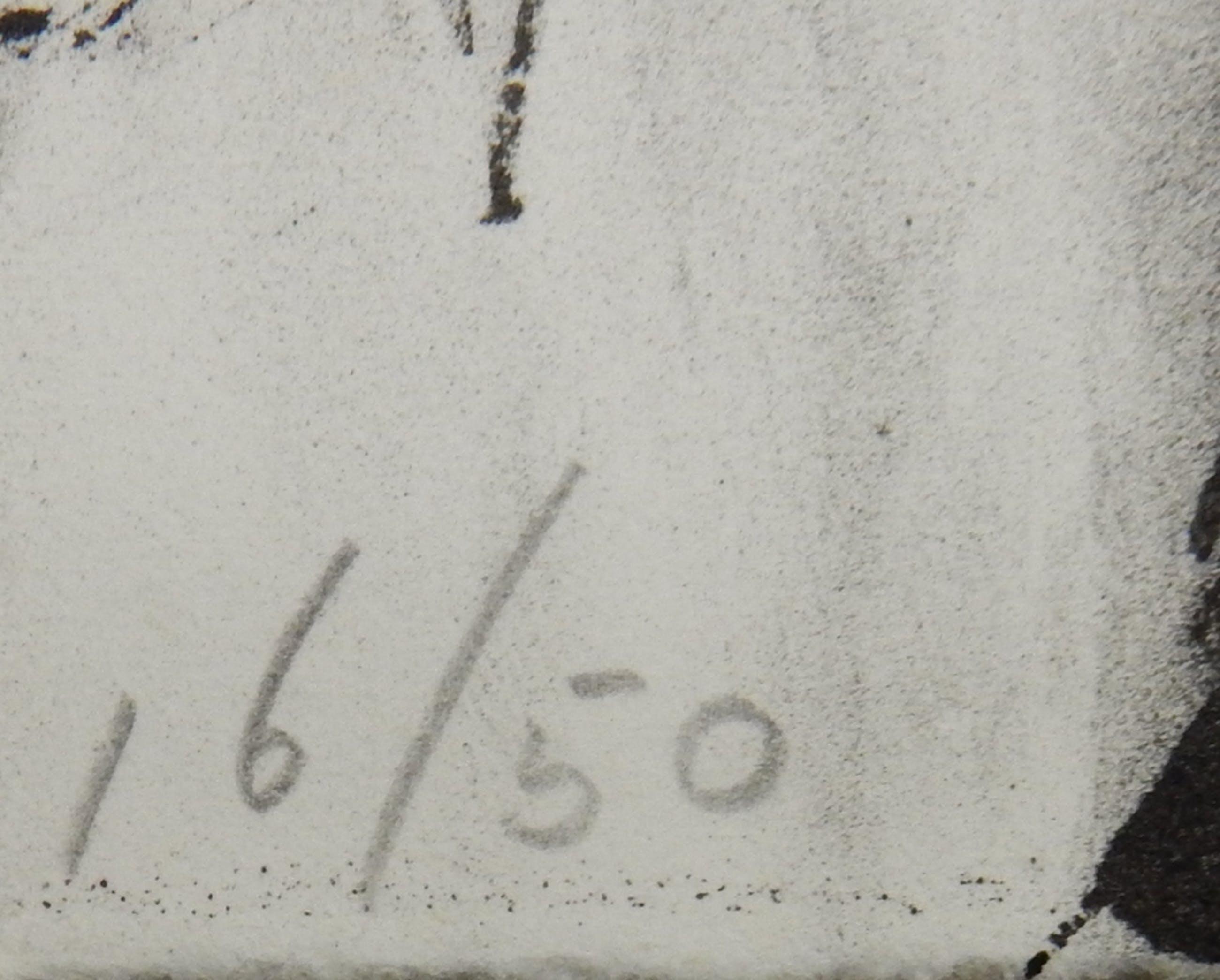 Christien ten Haaf (1953) - Lithografie - oplage 50 kopen? Bied vanaf 20!