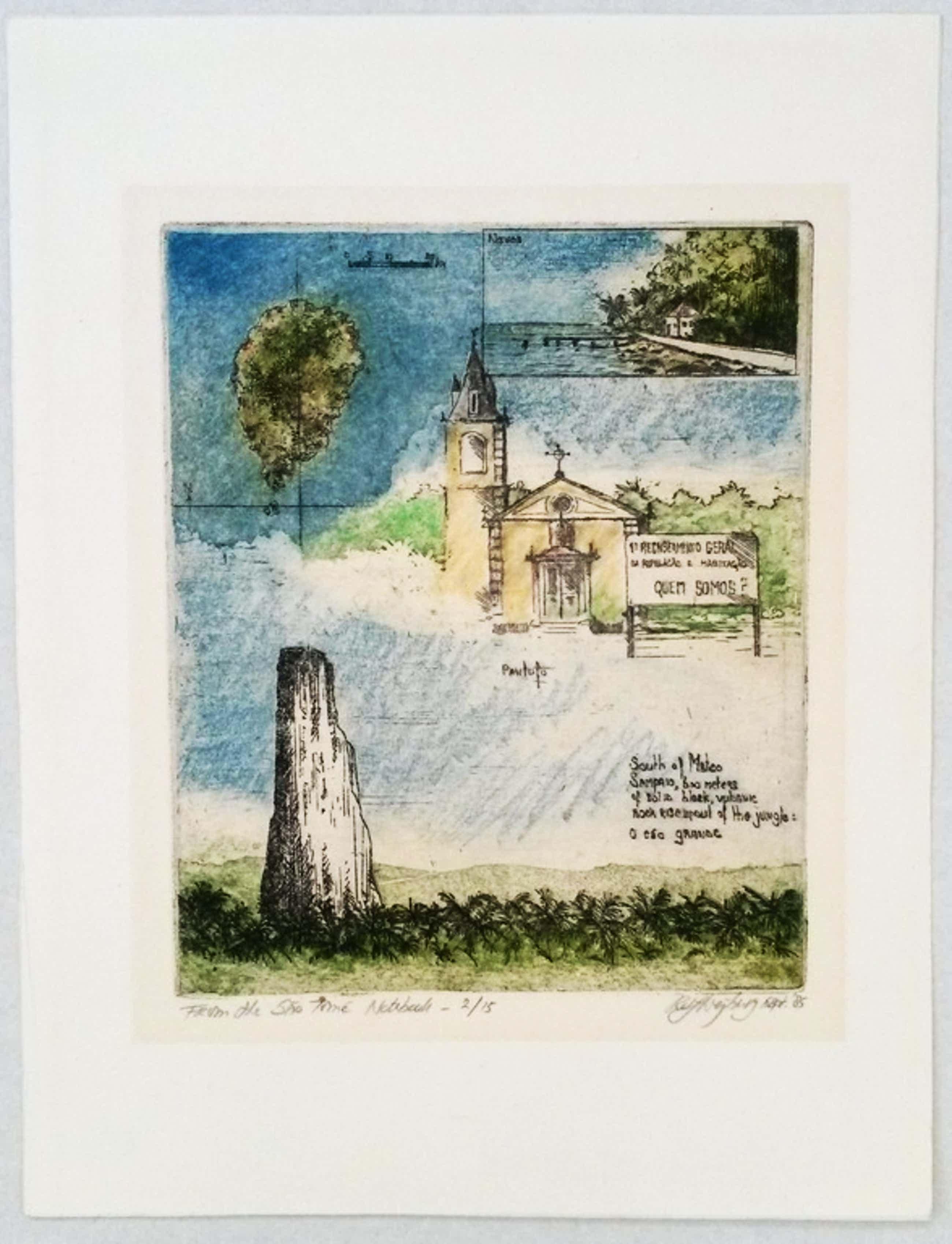 Rolf Weijburg - kleurenets - From the Sao Tomé Notebook kopen? Bied vanaf 40!
