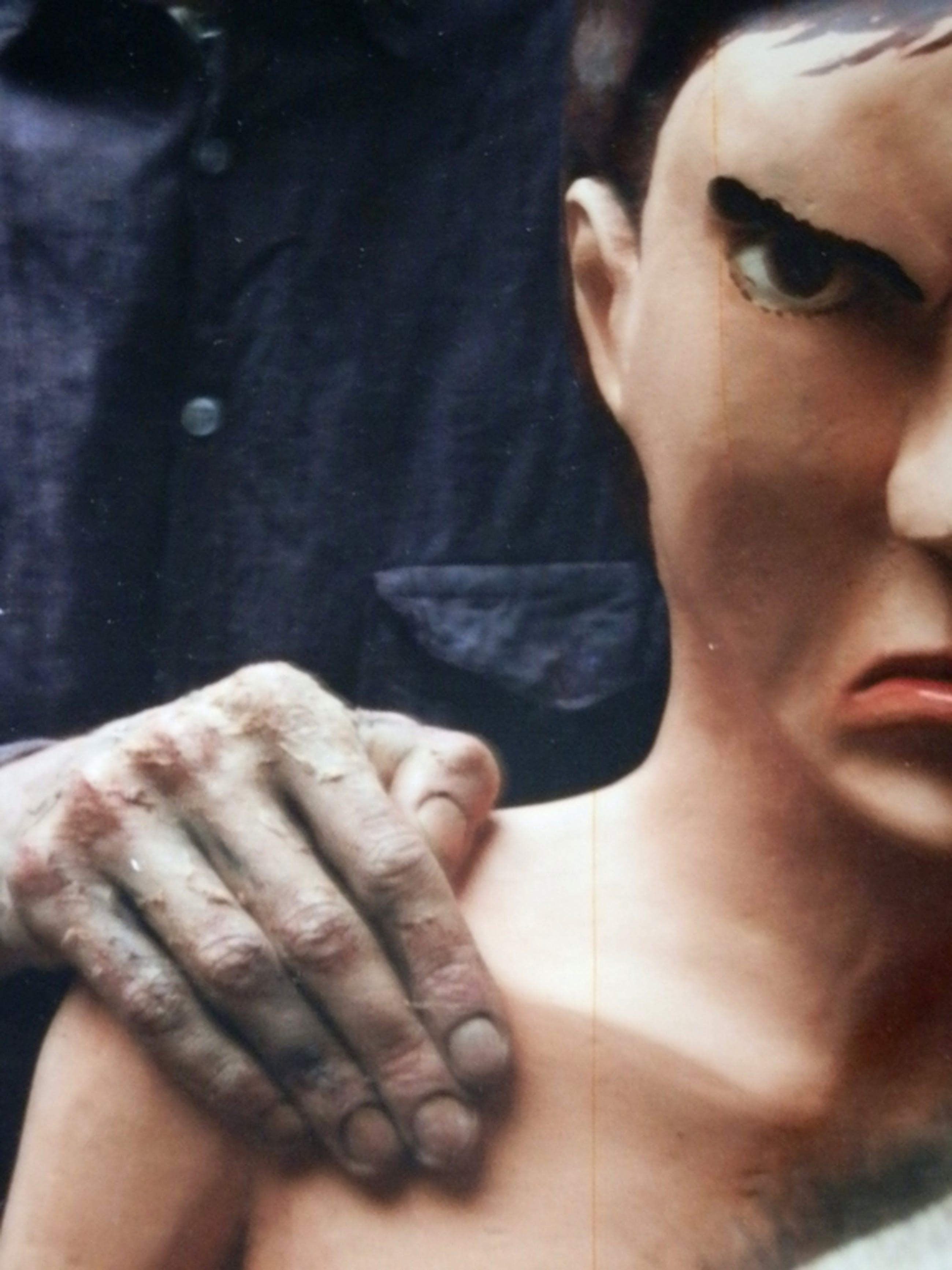 Paul de Reus, Foto/Poster (unica), Zelfportret als oude man, 1995 kopen? Bied vanaf 150!