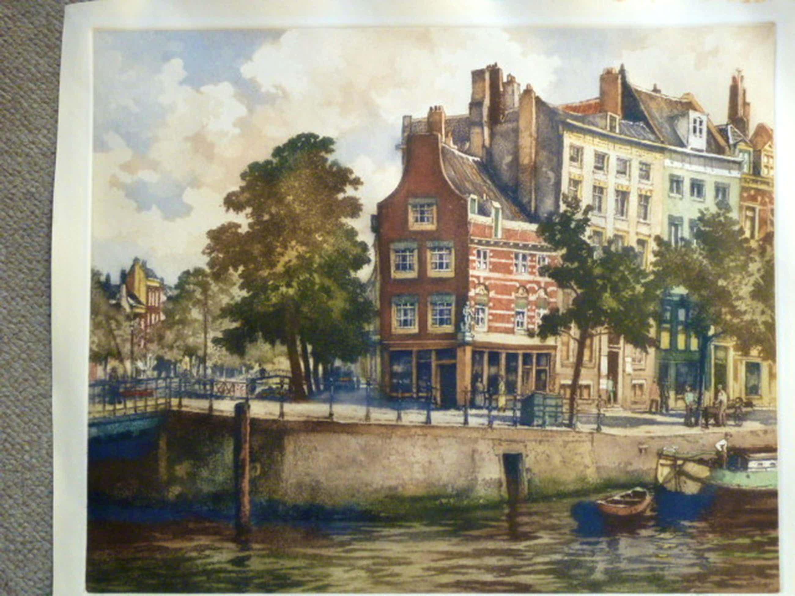H.E.Roodenburg - kleurenets - Spaansche kade, Rotterdam kopen? Bied vanaf 65!