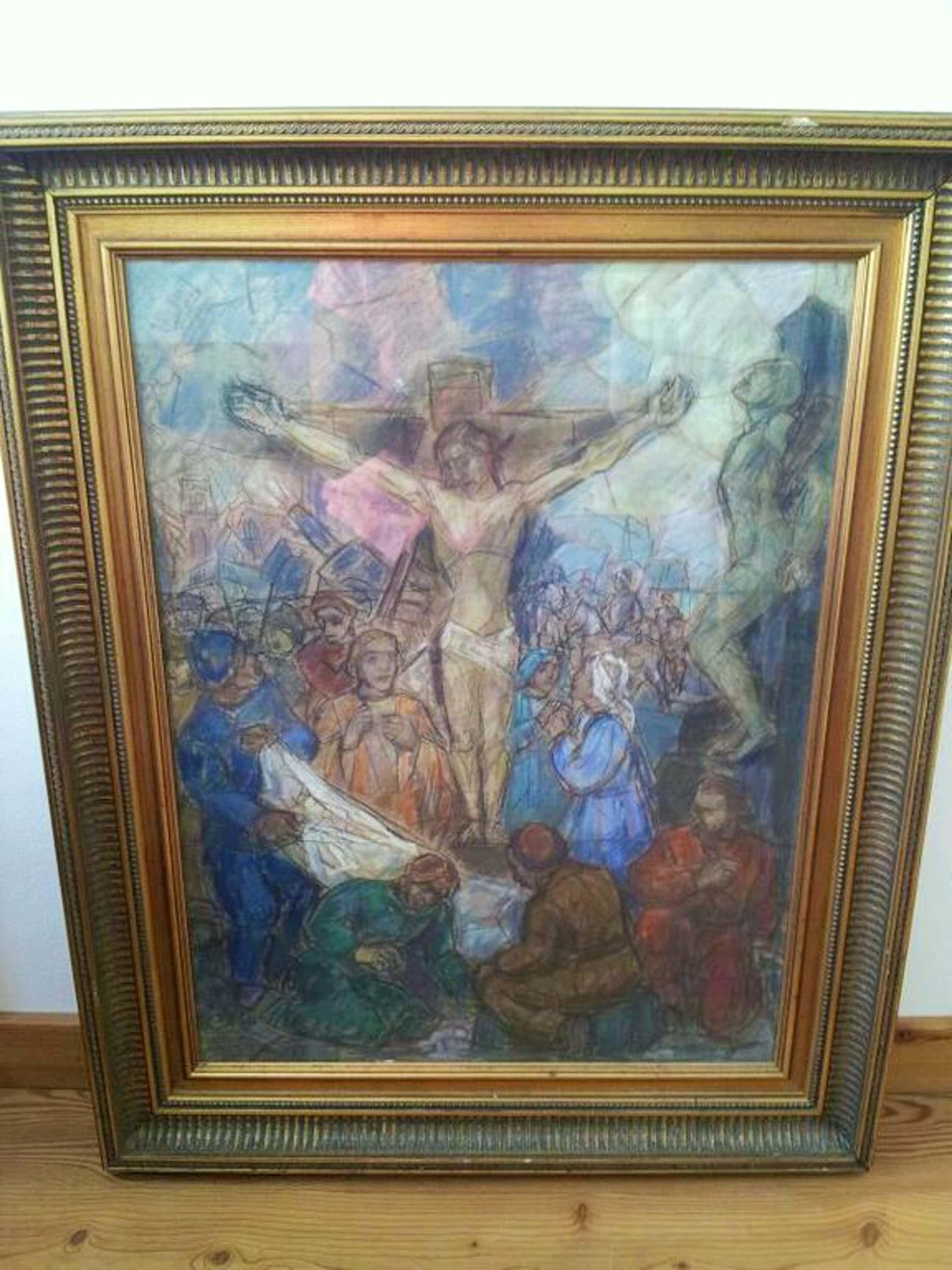 H van Meegeren:Jezus aan het kruis kopen? Bied vanaf 120!