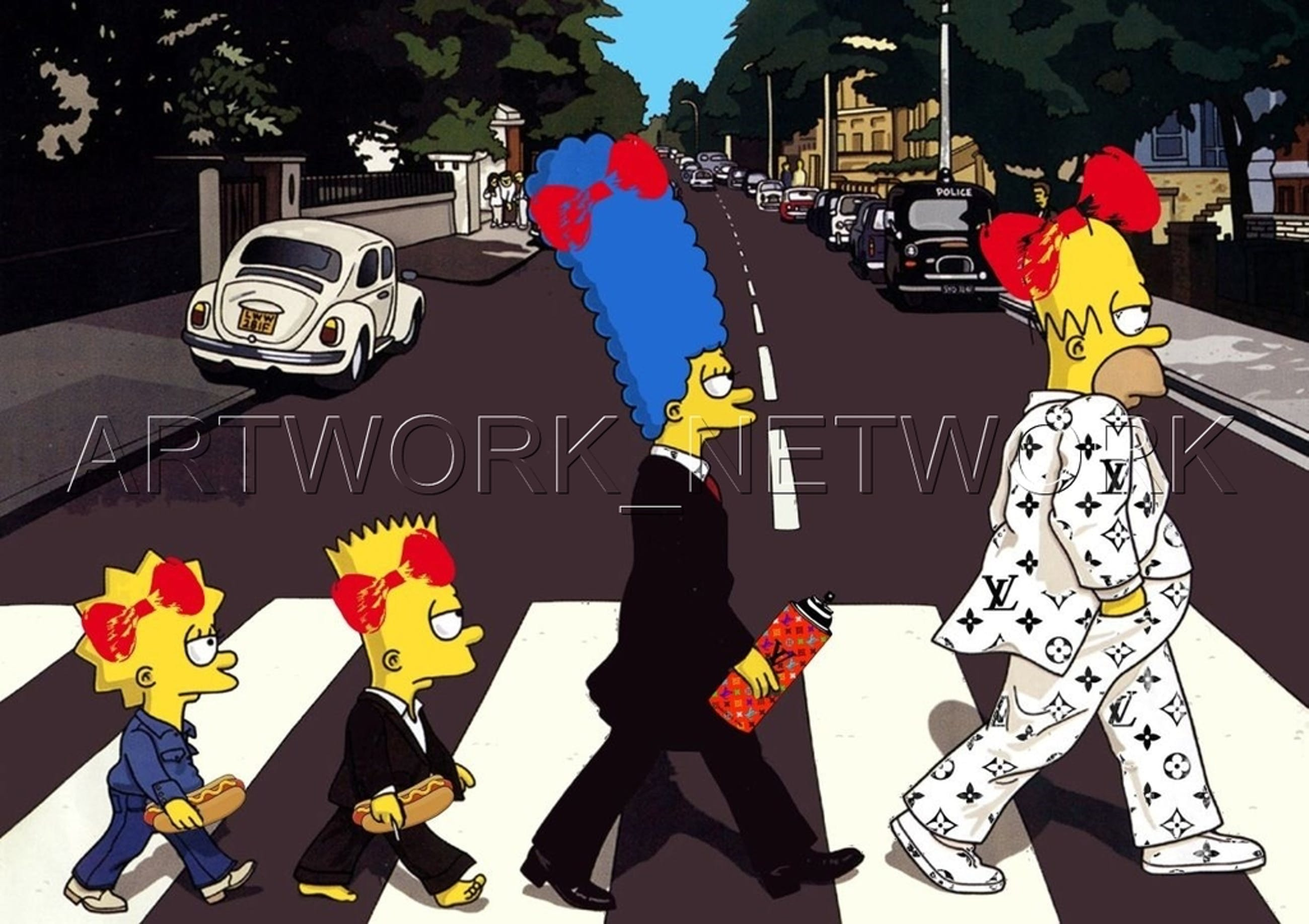 """Large Print Painting """"Family"""" Signed Numbered A/P or 1 to 100 with COA kopen? Bied vanaf 1!"""