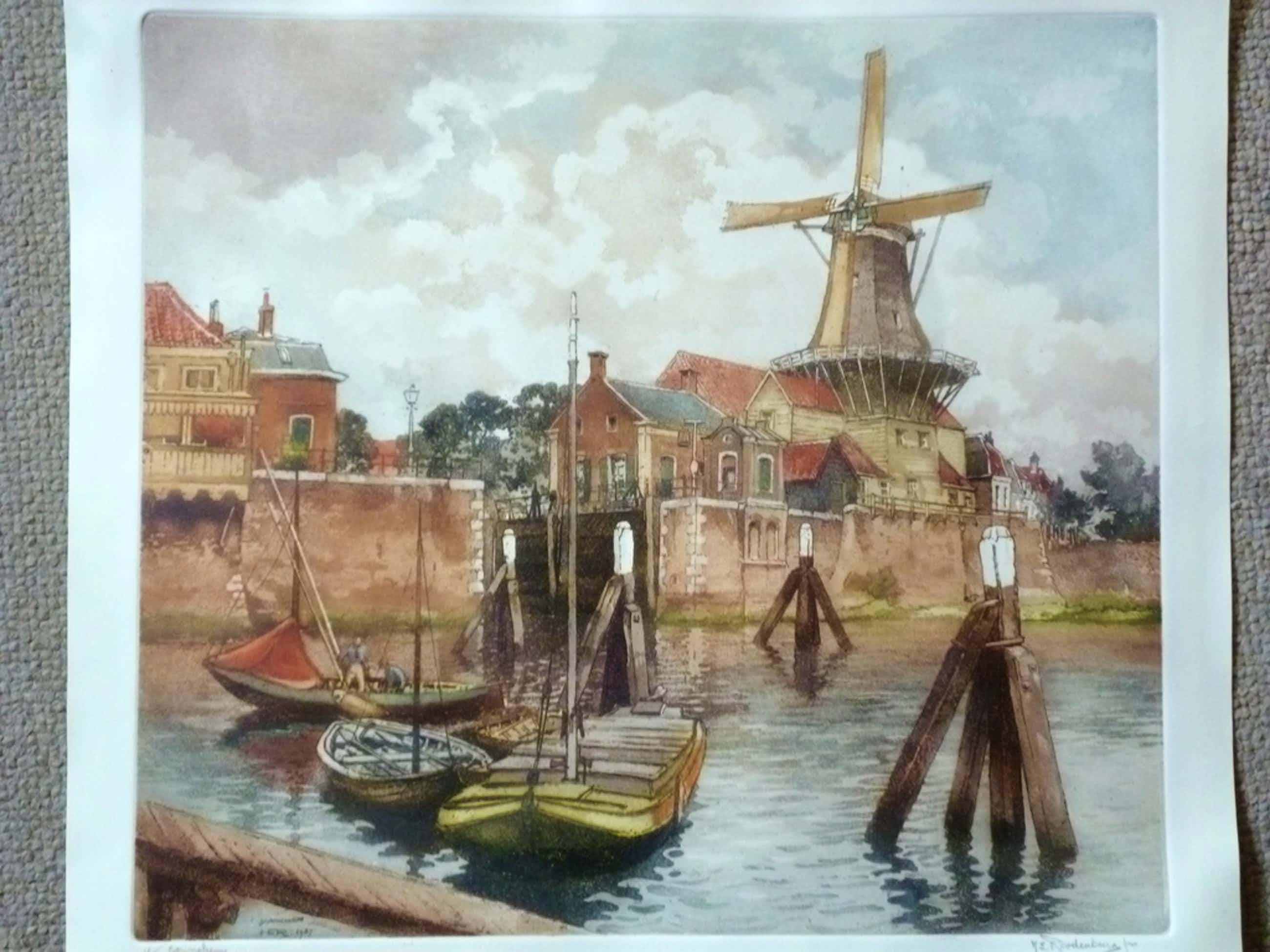 H.E.Roodenburg - ets - Haveningang, Gorinchem kopen? Bied vanaf 85!