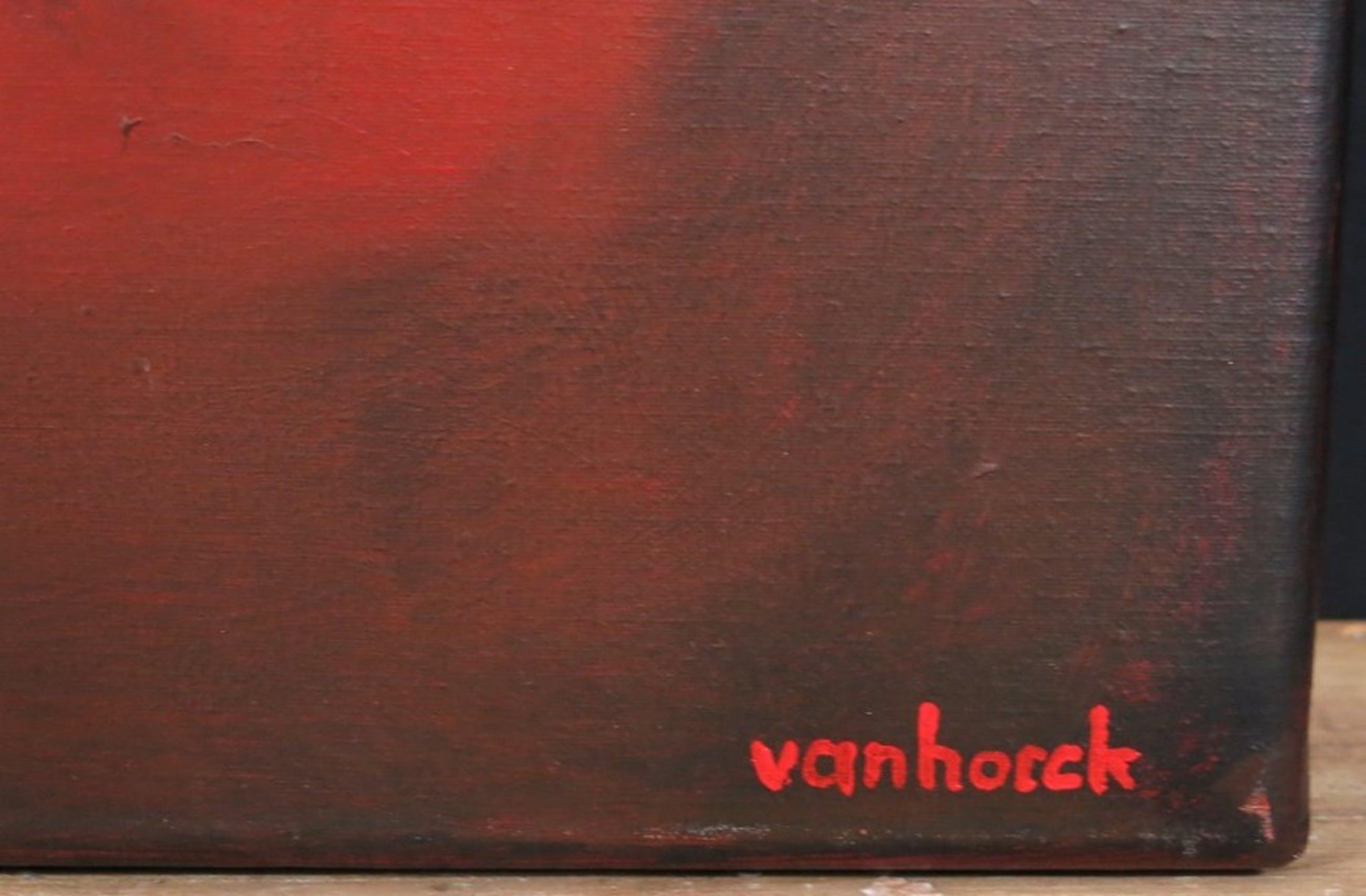 Hans Vanhorck: Olieverf op doek, La structure abstracte  kopen? Bied vanaf 400!