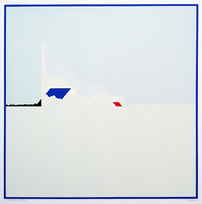 Han Jansen - Hollands landschap, zeefdruk kopen? Bied vanaf 75!