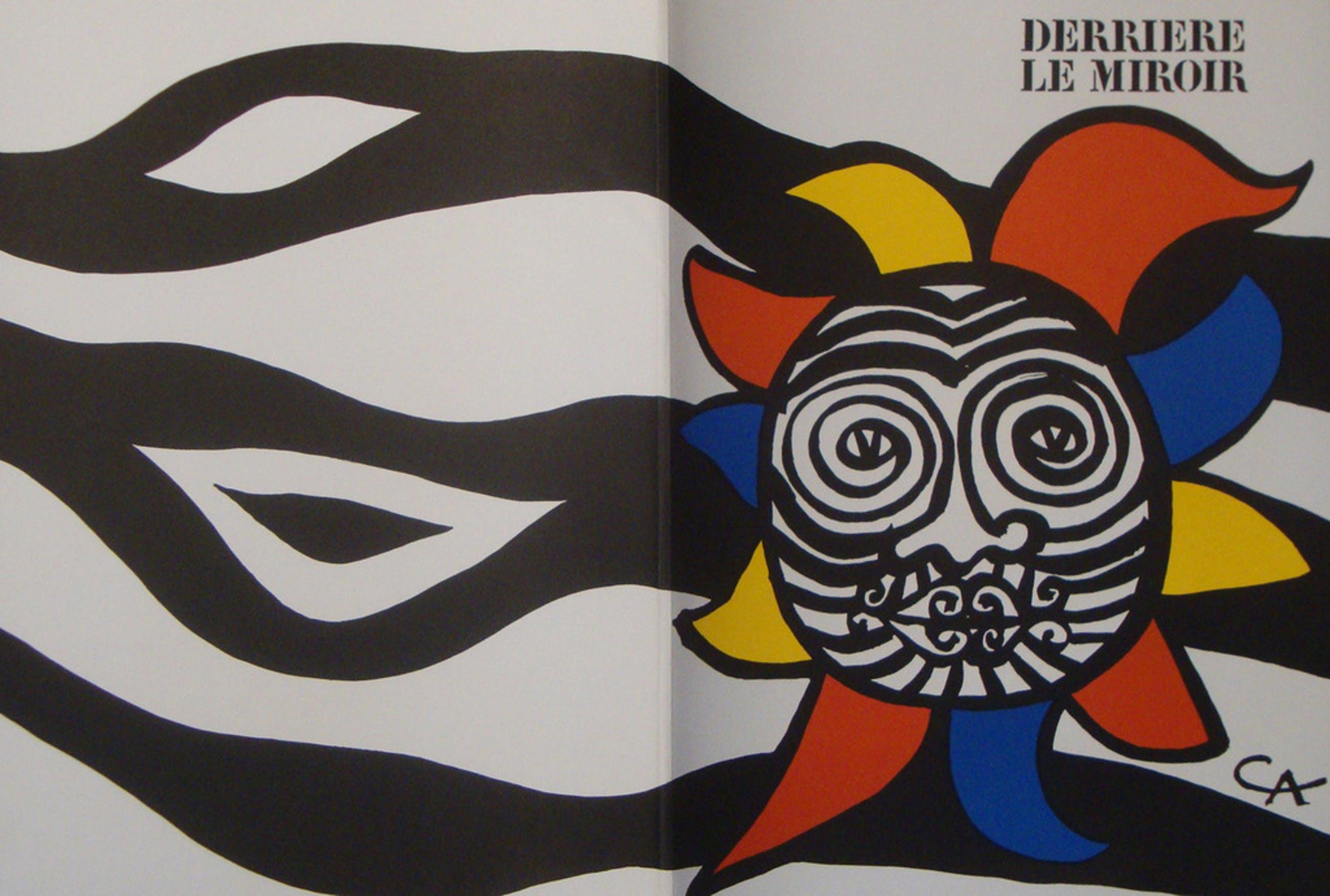 Alexander Calder: originele litho, omslag DLM 156 kopen? Bied vanaf 1!