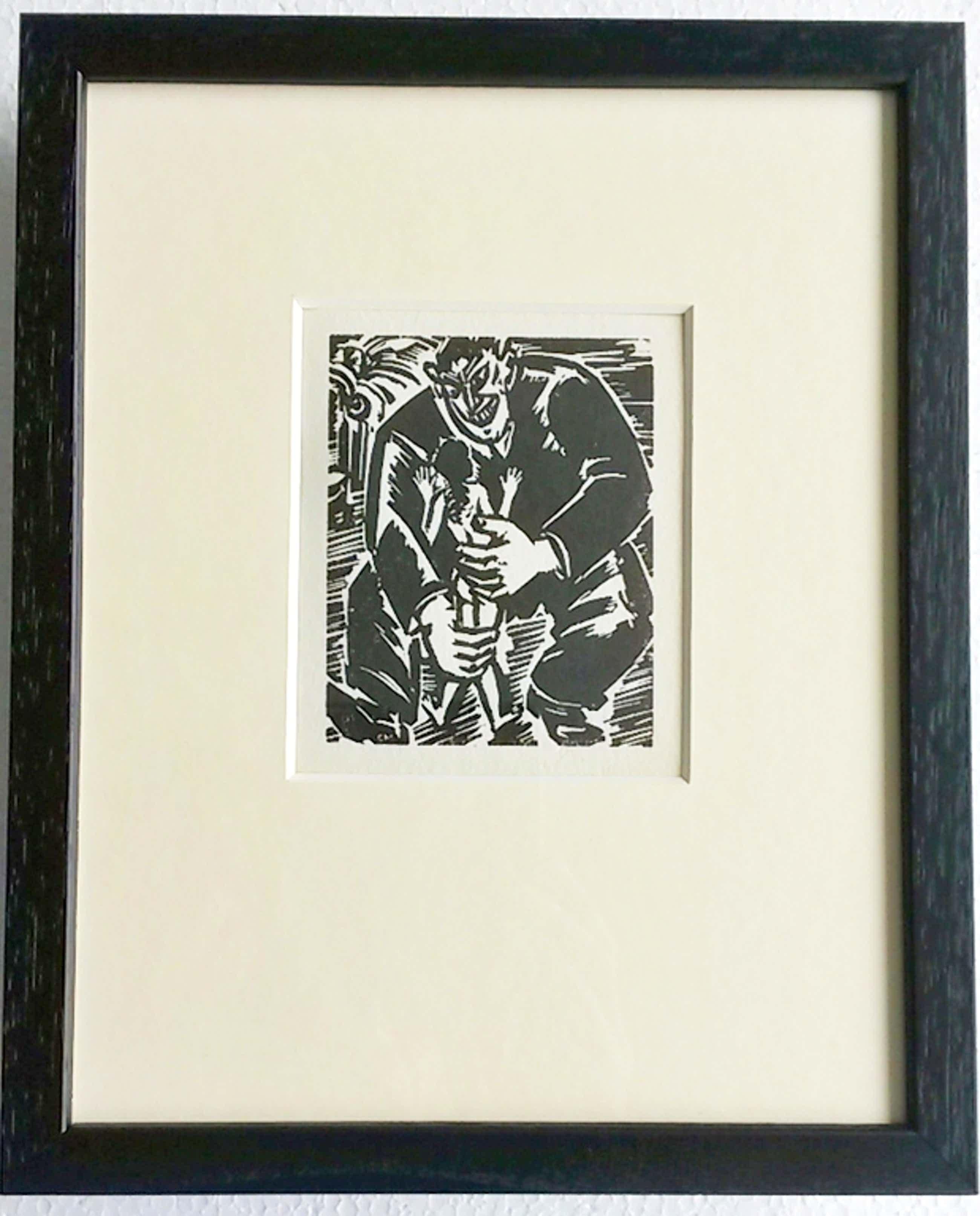 Frans Masereel, houtsnede: Begierde, 1949 kopen? Bied vanaf 55!