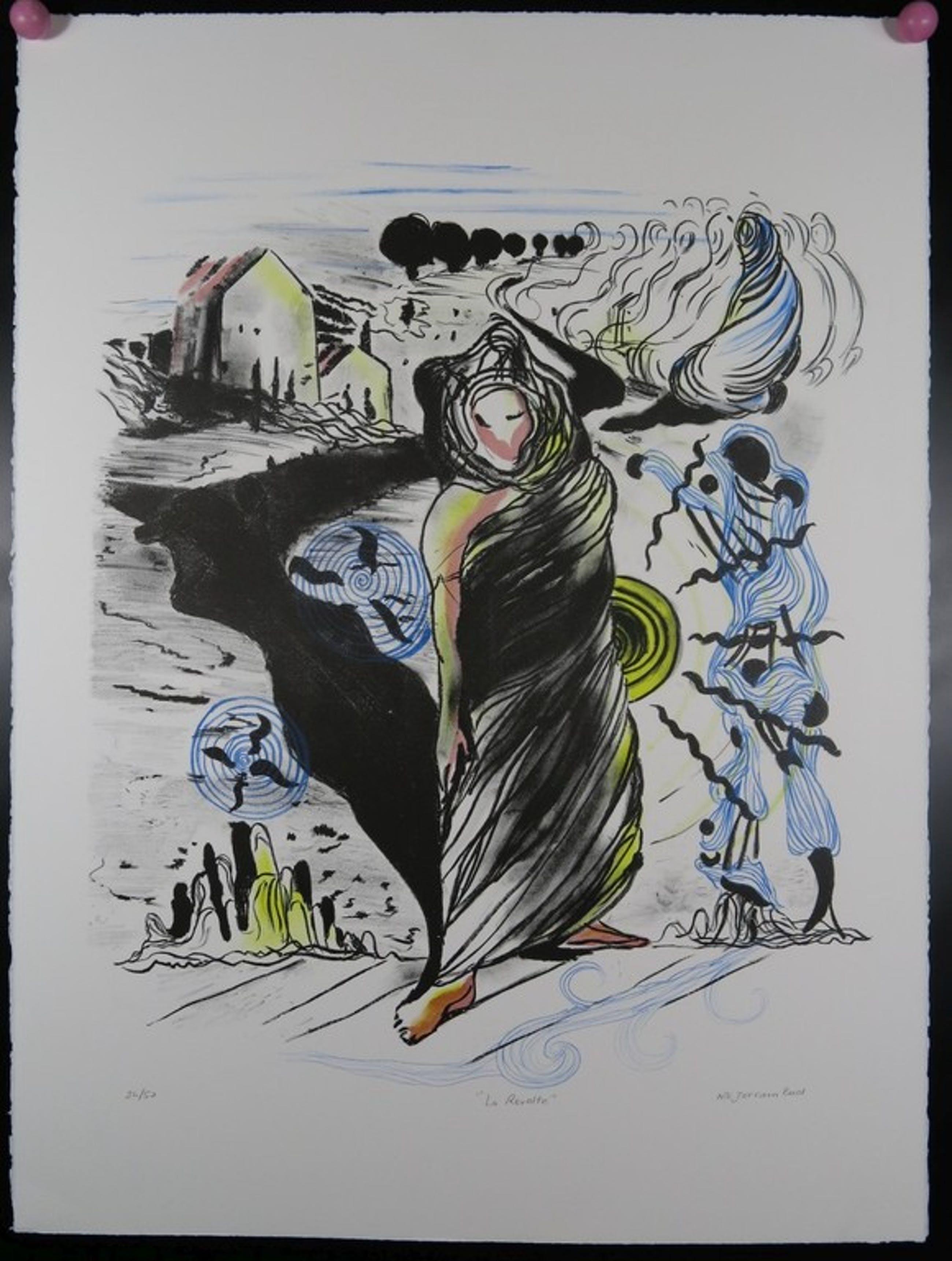 Nour Edinne Jarram: Litho, La Revolte kopen? Bied vanaf 1!