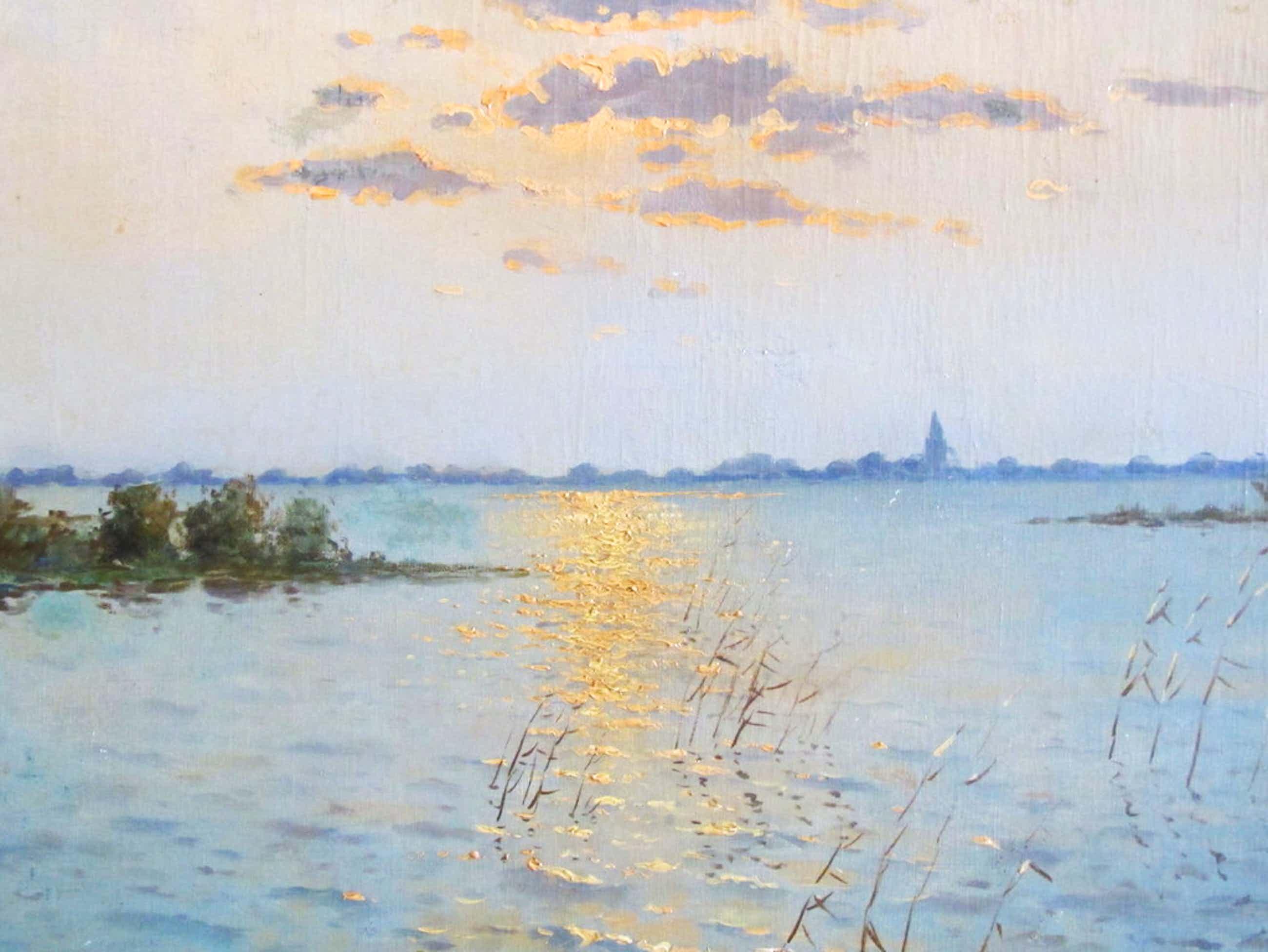 C. Verschuur, alias van Cor Bouter (1888-1966), Olieverfschilderij, Noordeloos kopen? Bied vanaf 190!