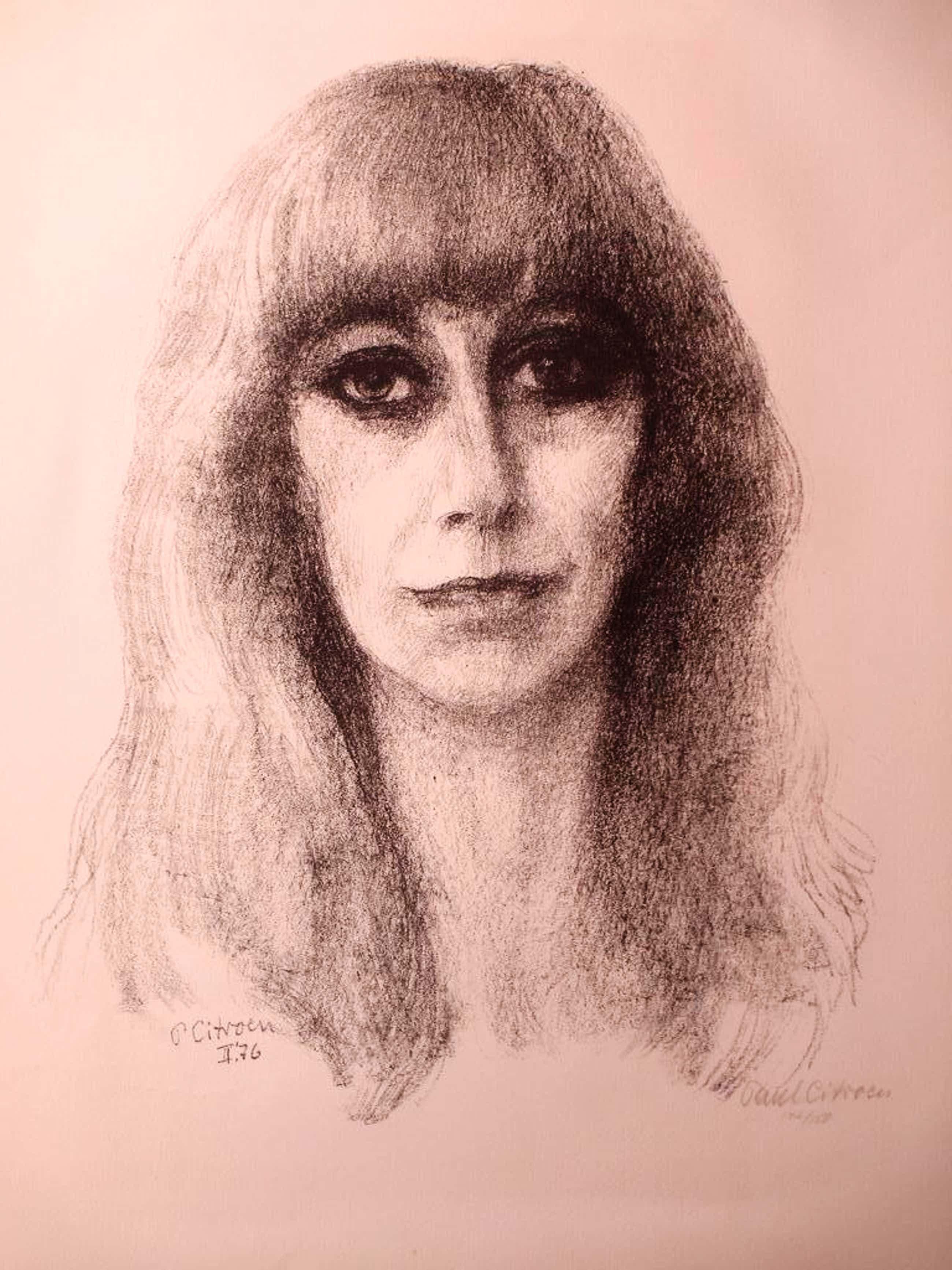 Paul Citroen, Portret van een vrouw, Litho 1976 kopen? Bied vanaf 45!