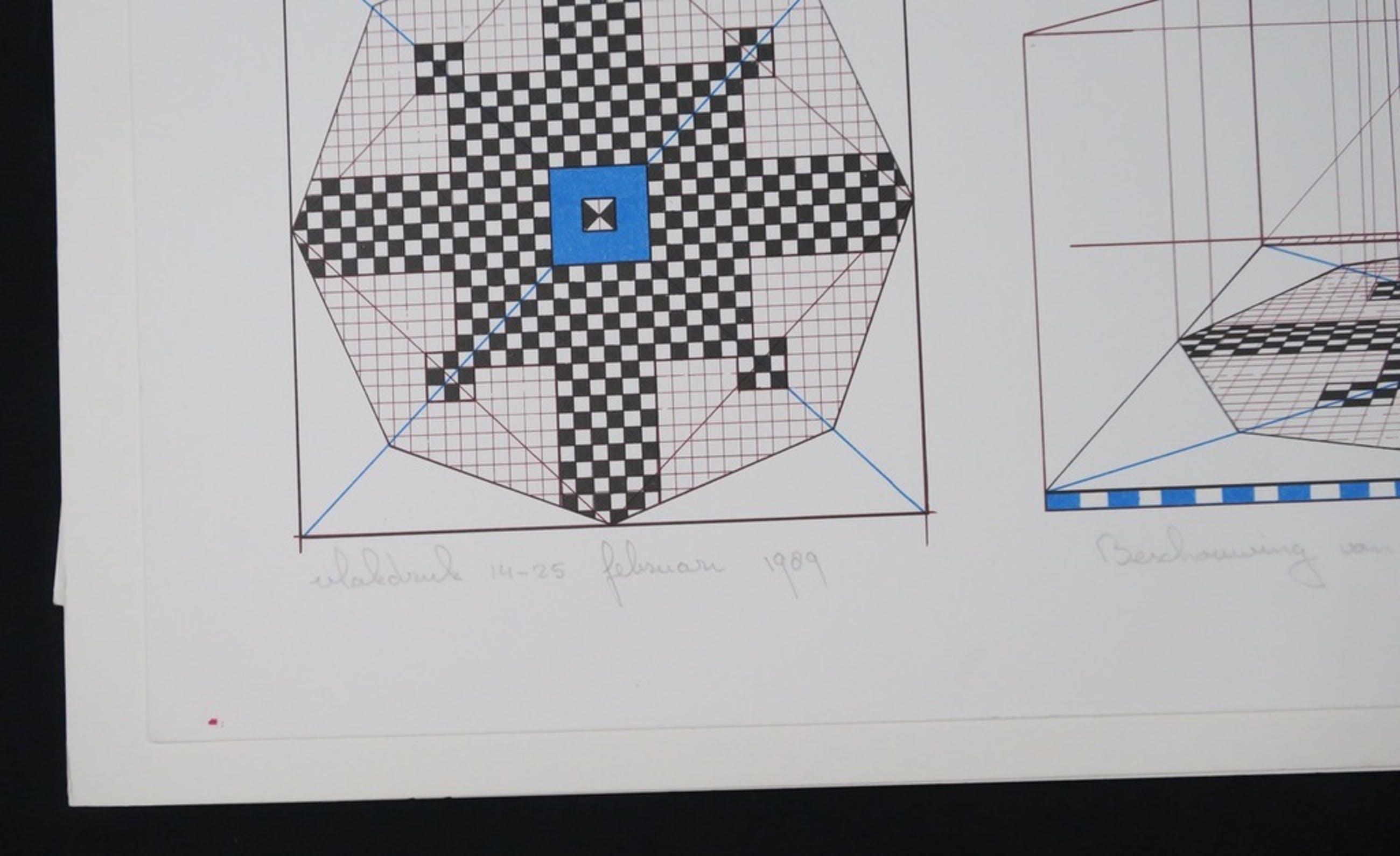 Jos van Doorn: Lot met 7x: Vlakdruk, Beschouwing van een monument I kopen? Bied vanaf 1!