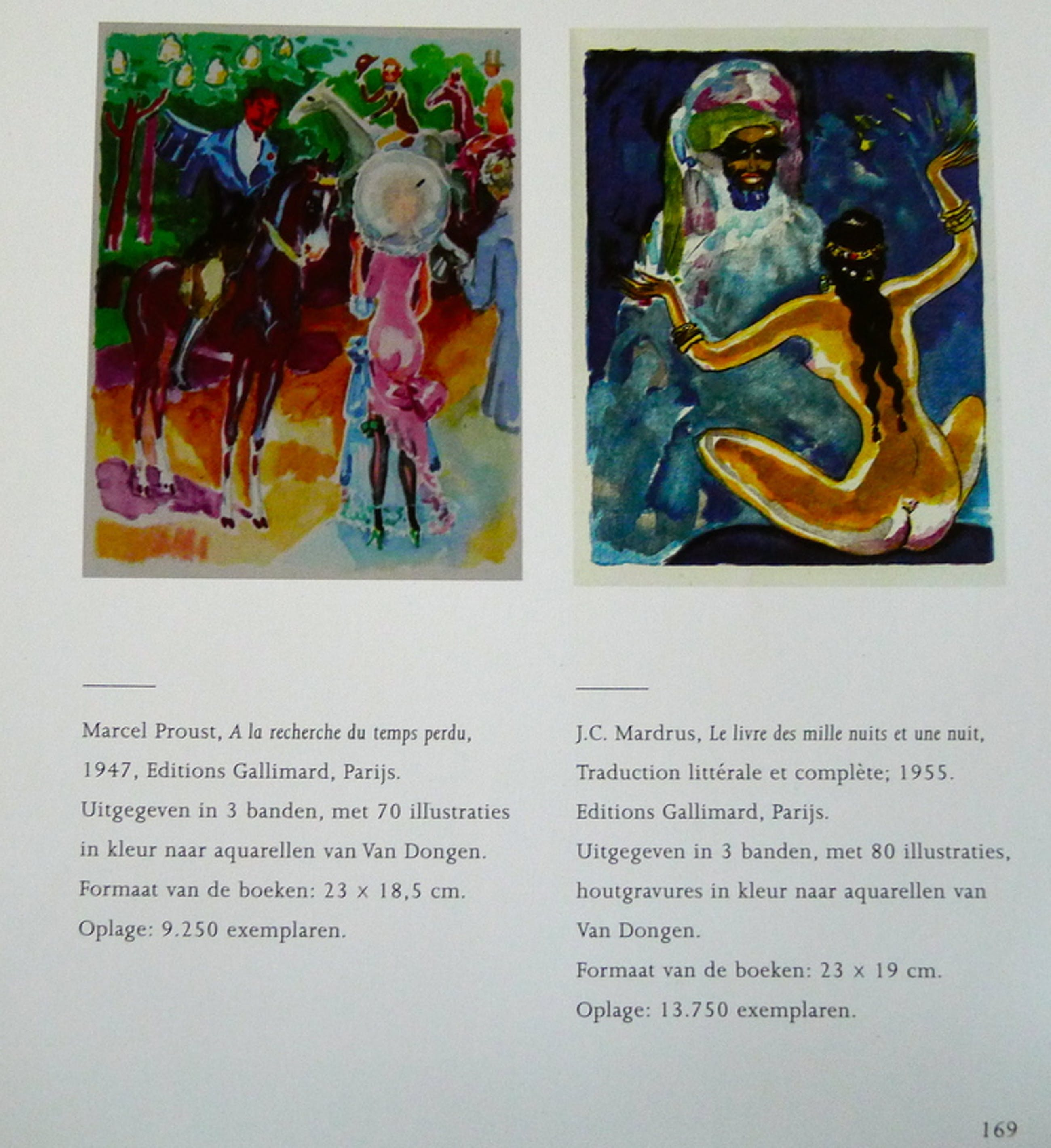 Kees van Dongen, illustratie naar aquarel uit a La Recherche du  Temps Perdu. kopen? Bied vanaf 25!