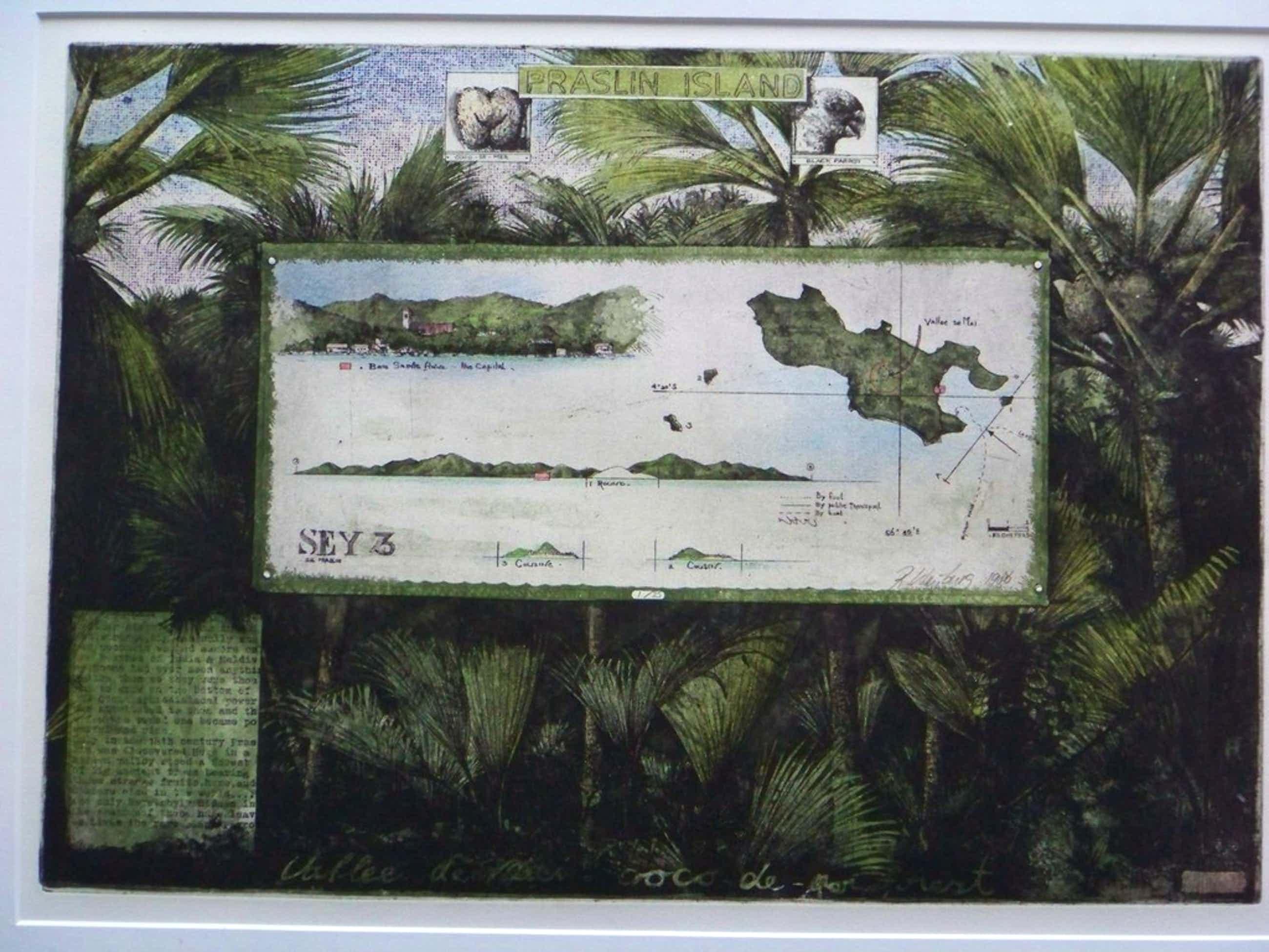Rolf Weijburg, Ets, Praslin Island kopen? Bied vanaf 100!