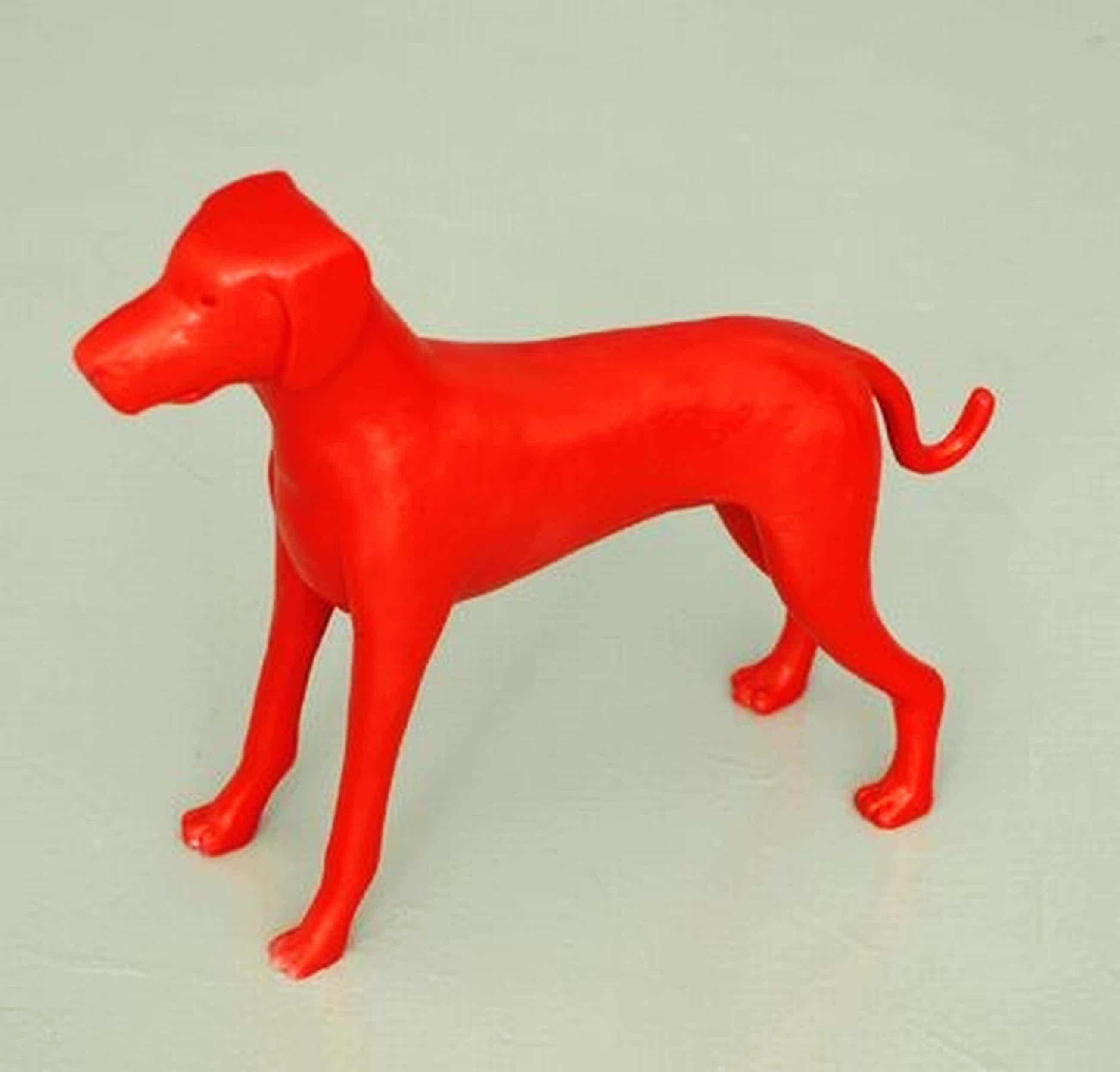 Jeroen Allart : Sculptuur: Rode Hond kopen? Bied vanaf 100!