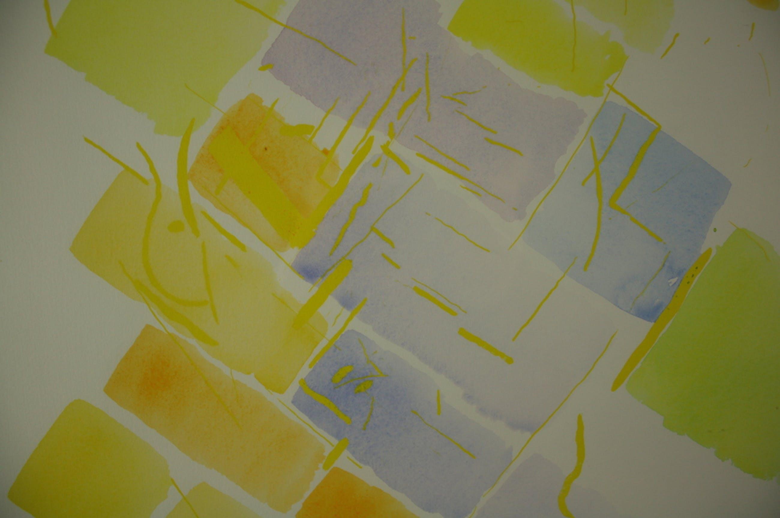 Jaap Hillenius, gemengde techniek, 'Geel (met zonlicht)', 1984 kopen? Bied vanaf 549!
