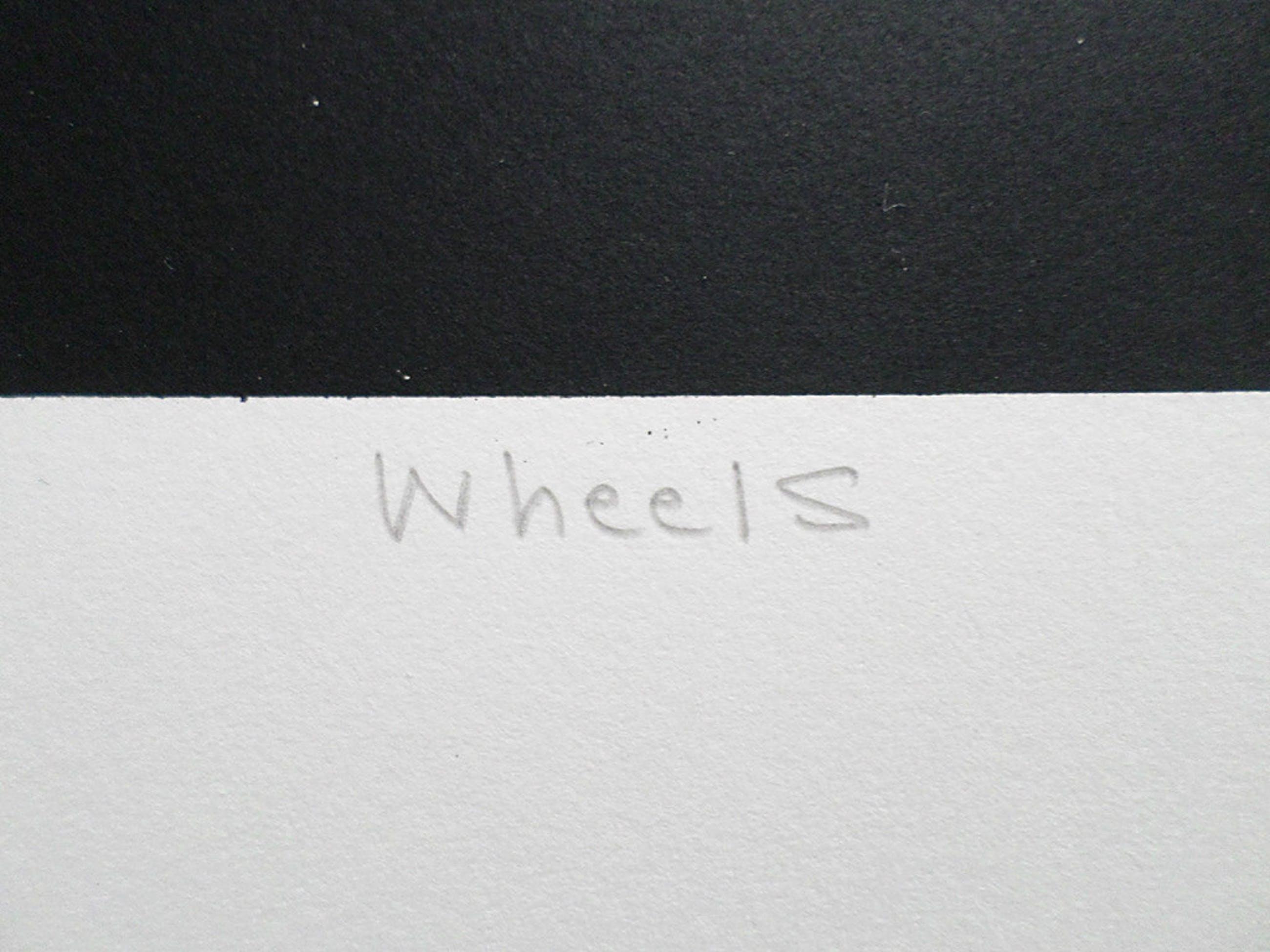 Hans Wap - Wheels, zeefdruk kopen? Bied vanaf 45!