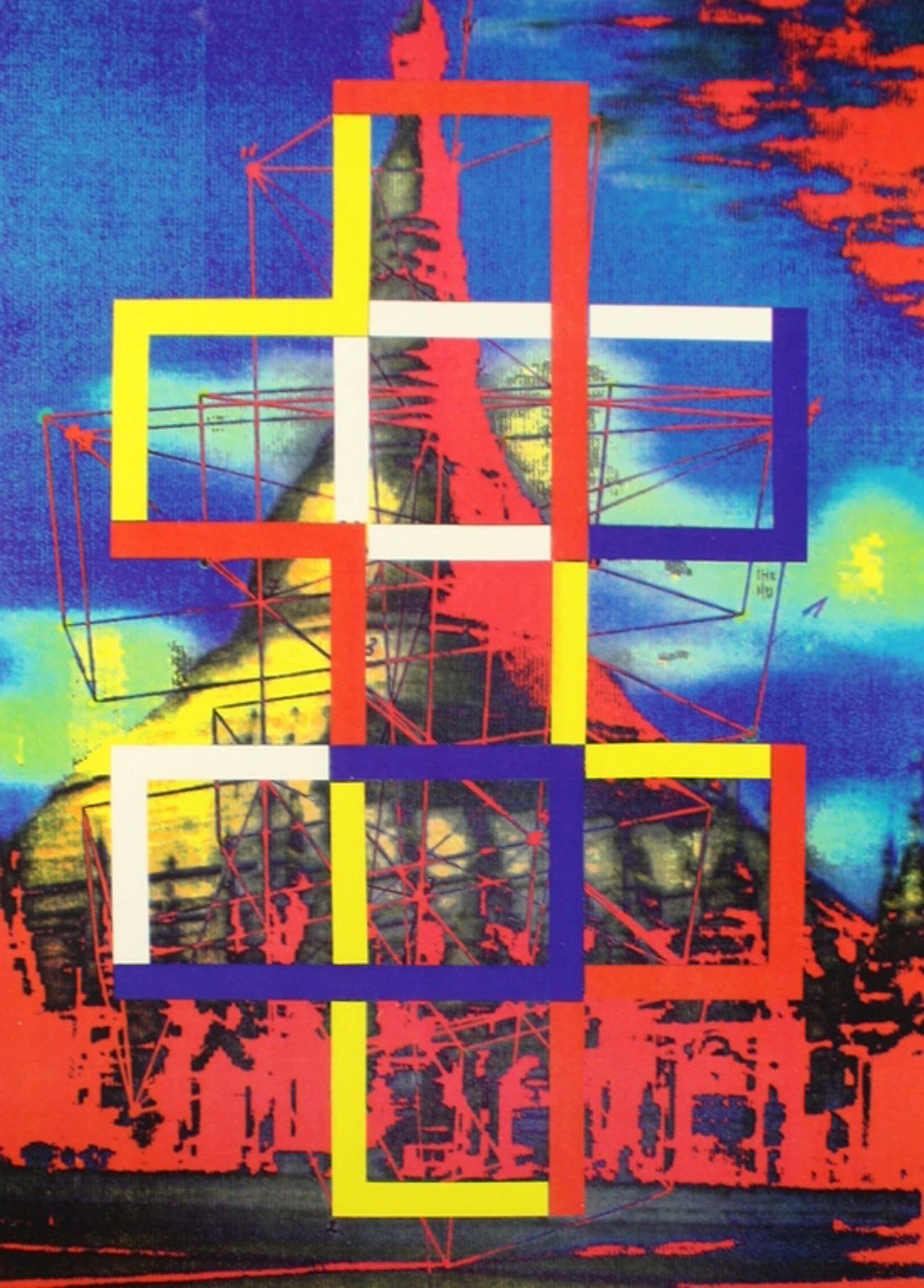 Woody van Amen, computerprint, 1991 kopen? Bied vanaf 95!