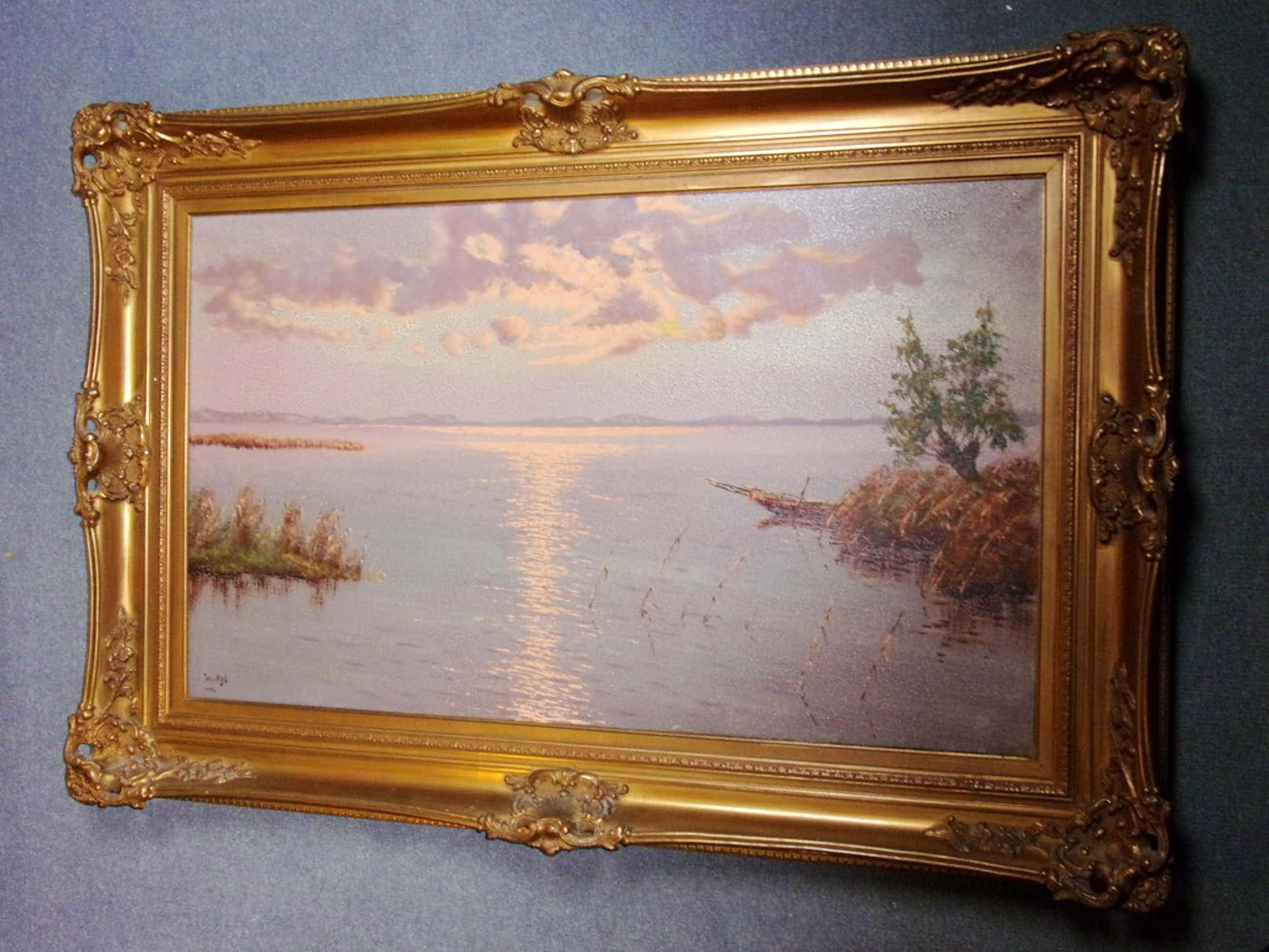 Jos van Dijk, olieverf schilderij,  kopen? Bied vanaf 250!