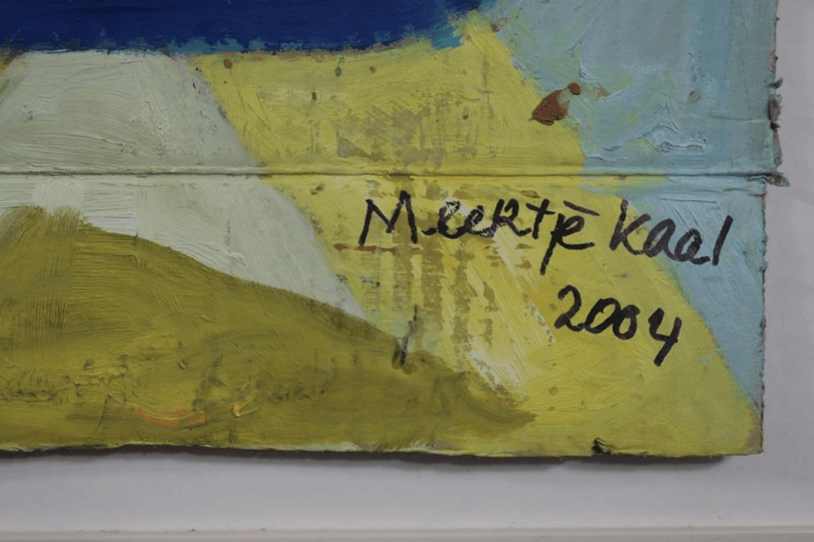Meertje Kaal: Olieverf op karton, De phrychische vloot I - Ingelijst kopen? Bied vanaf 1!
