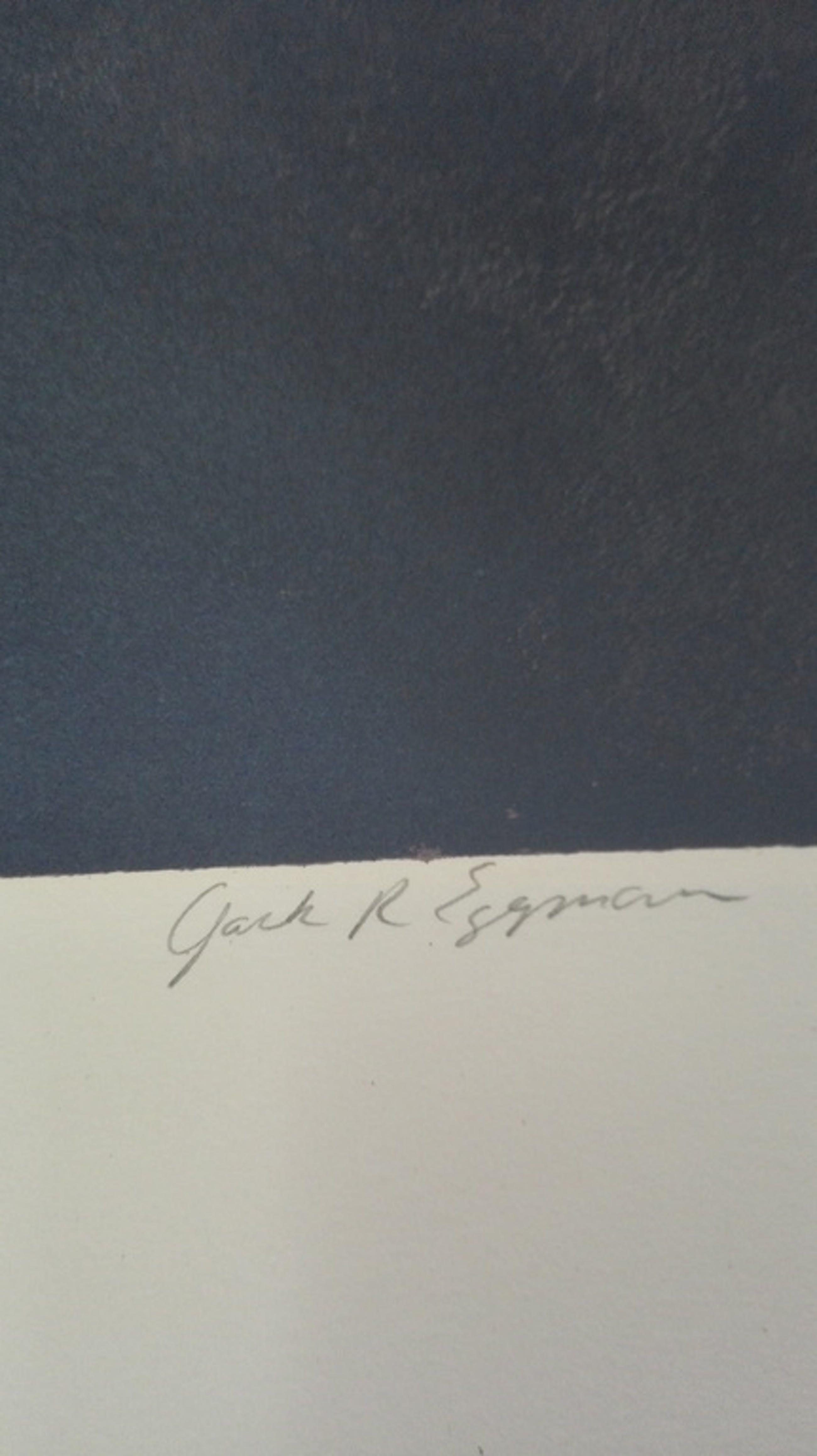 Yark R Esgman, zeefdruk op papier kopen? Bied vanaf 1!
