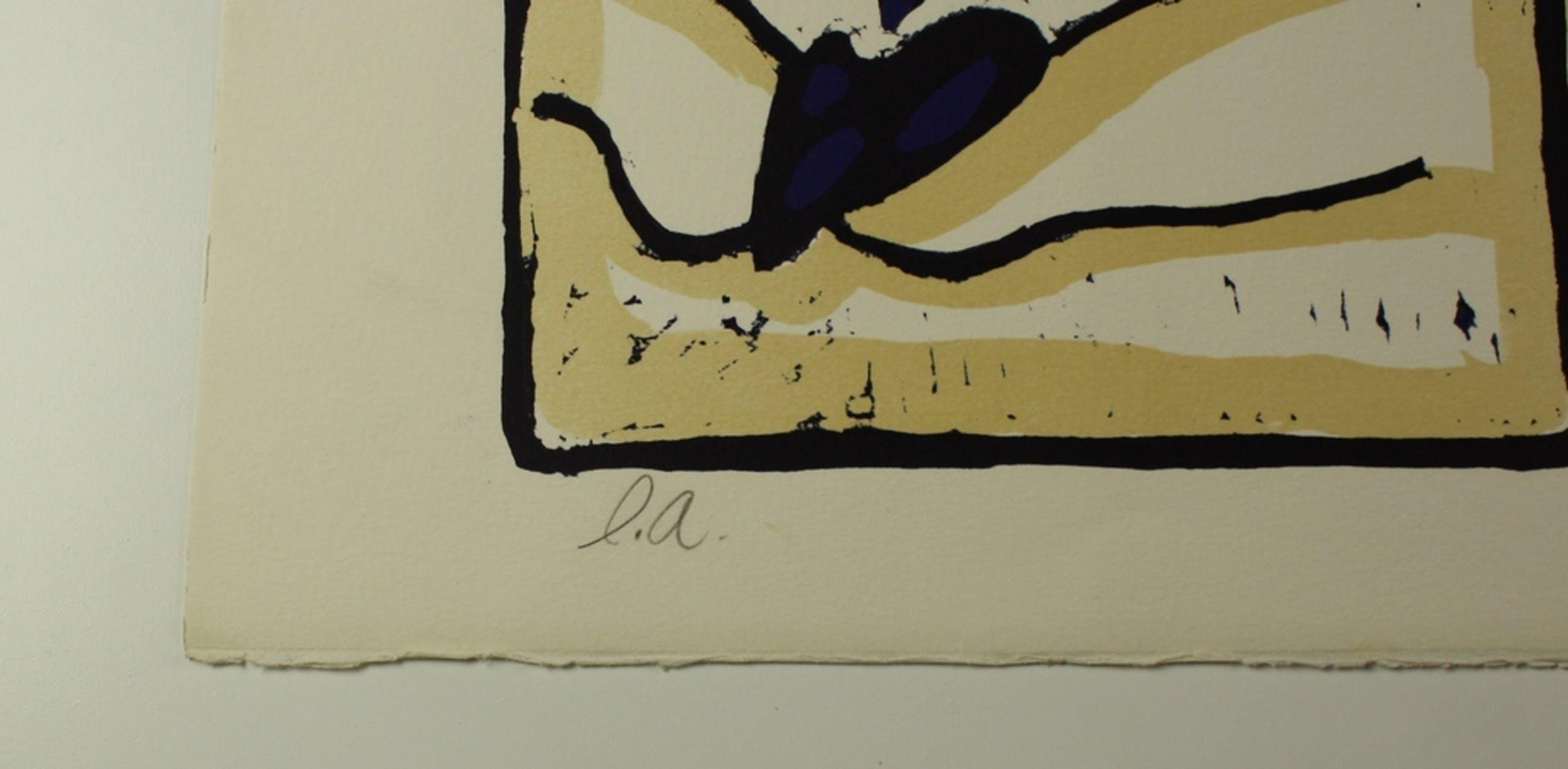 Mark Brusse, zeefdruk, 1982 kopen? Bied vanaf 50!