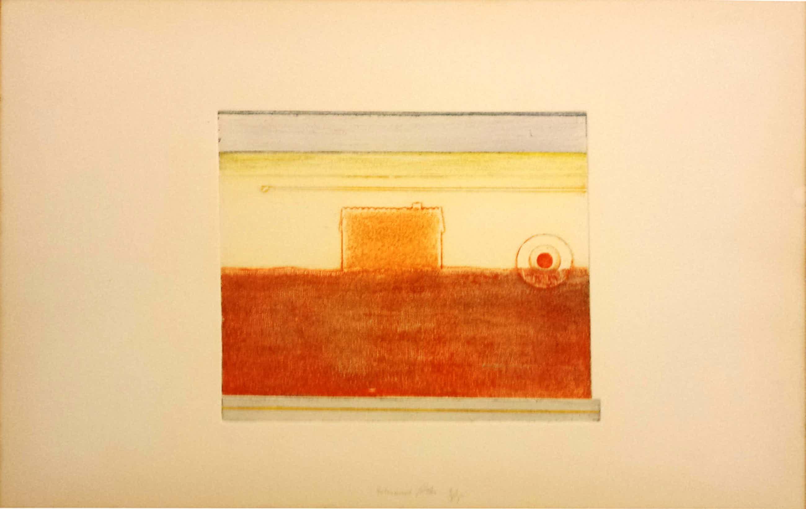 Eduard Flor, Ets nr 5, tijd, 1974 kopen? Bied vanaf 42!