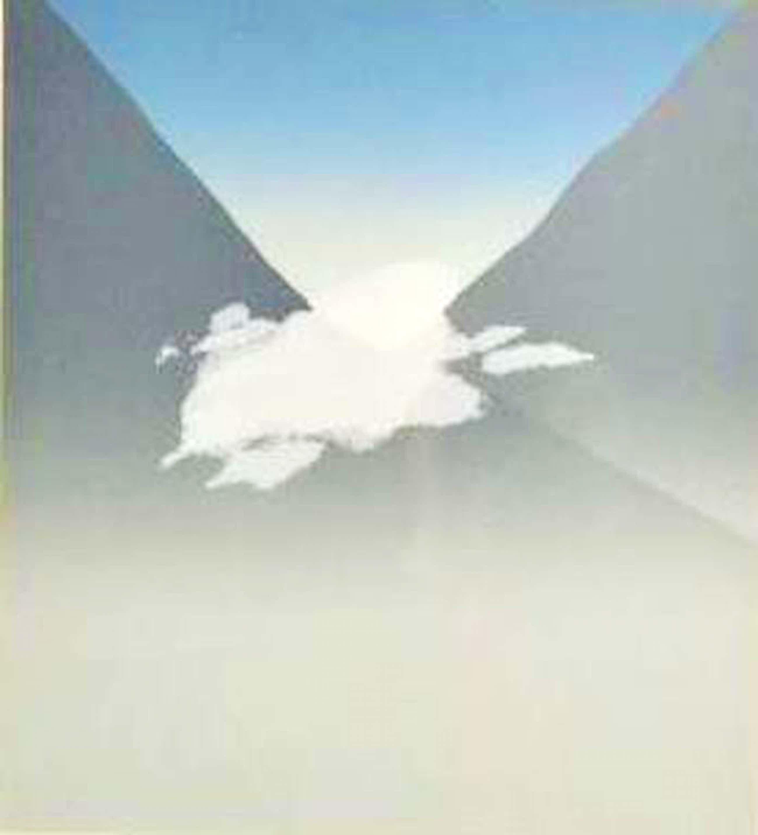 Jan Hendrix: Zeefdruk, Clouds entering valley 8D - Ingelijst kopen? Bied vanaf 60!